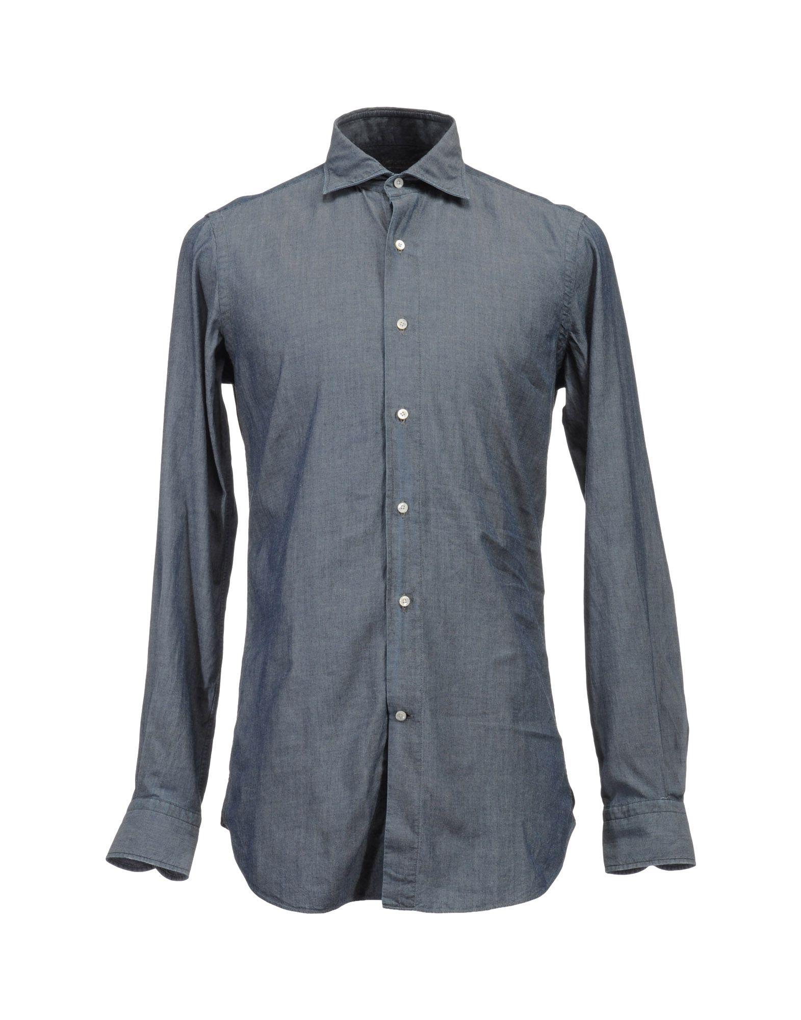 BOGLIOLI Рубашка с длинными рукавами цена 2017