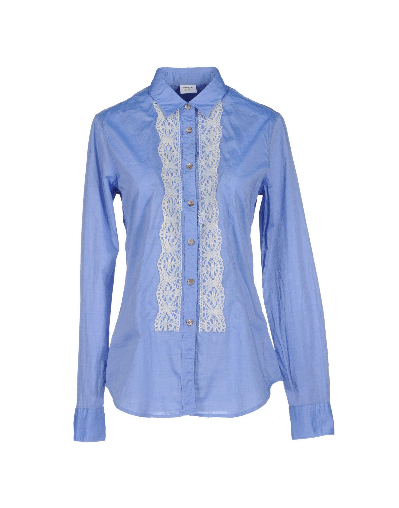 купить CALIBAN RUE DE MATHIEU EDITION Рубашка с длинными рукавами по цене 6000 рублей