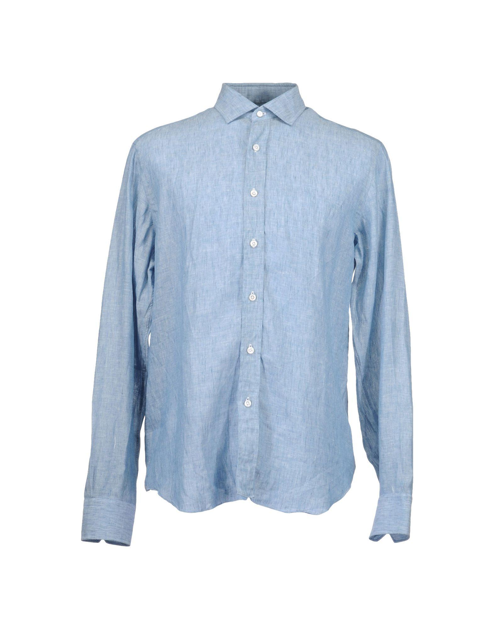 SALVATORE PICCOLO Рубашка с длинными рукавами цена 2017