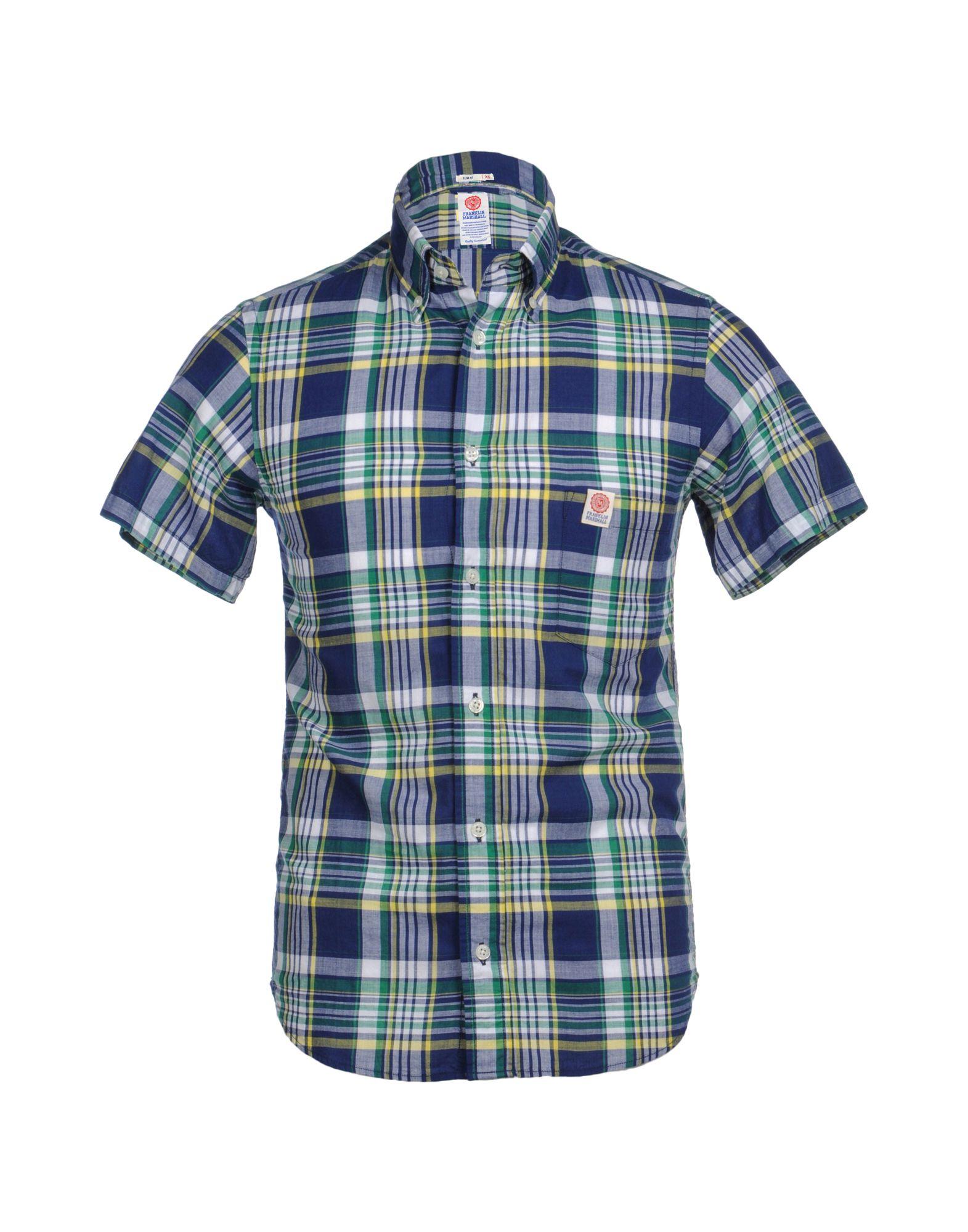 FRANKLIN & MARSHALL Рубашка с короткими рукавами