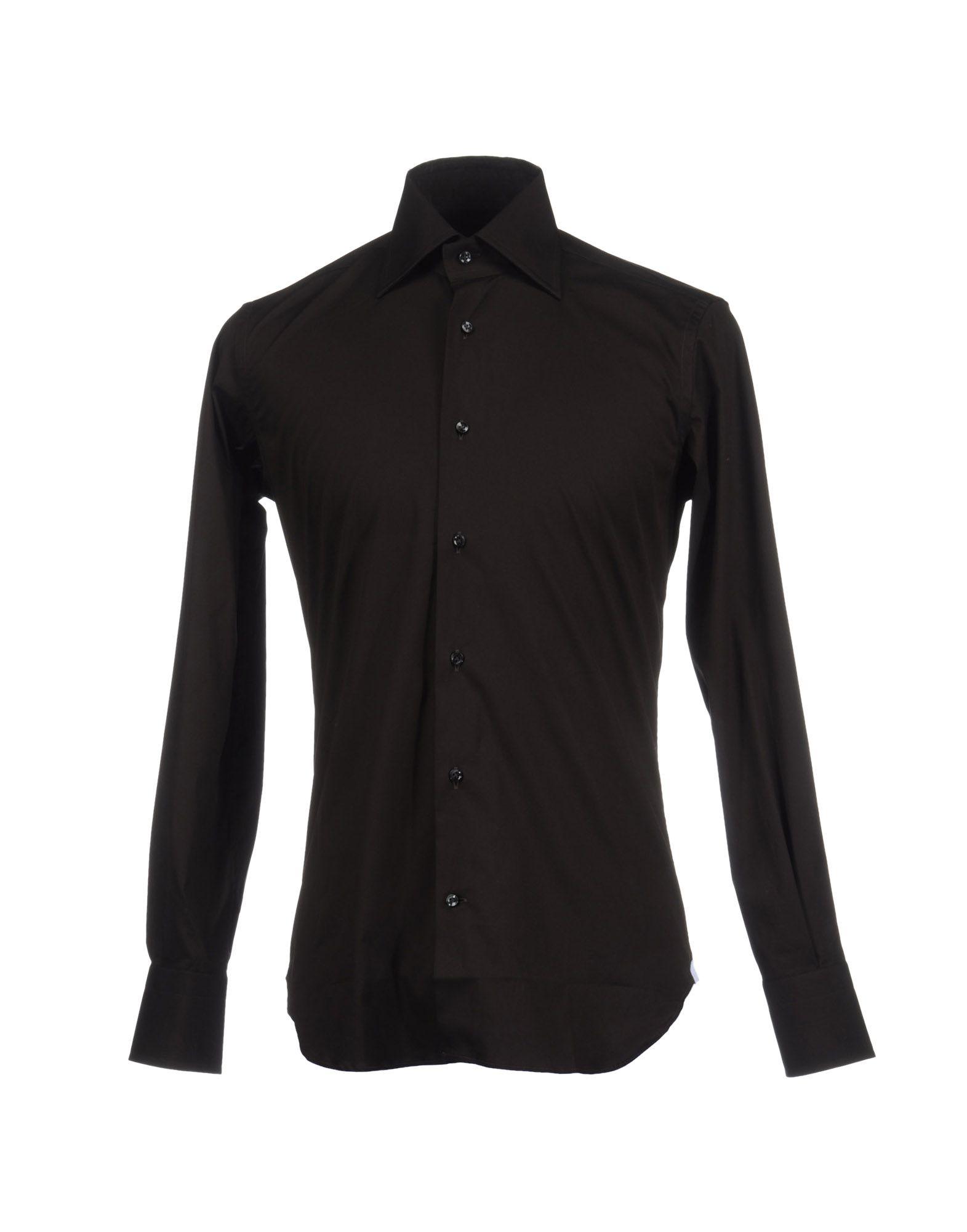 купить BORSA Рубашка с длинными рукавами по цене 3650 рублей