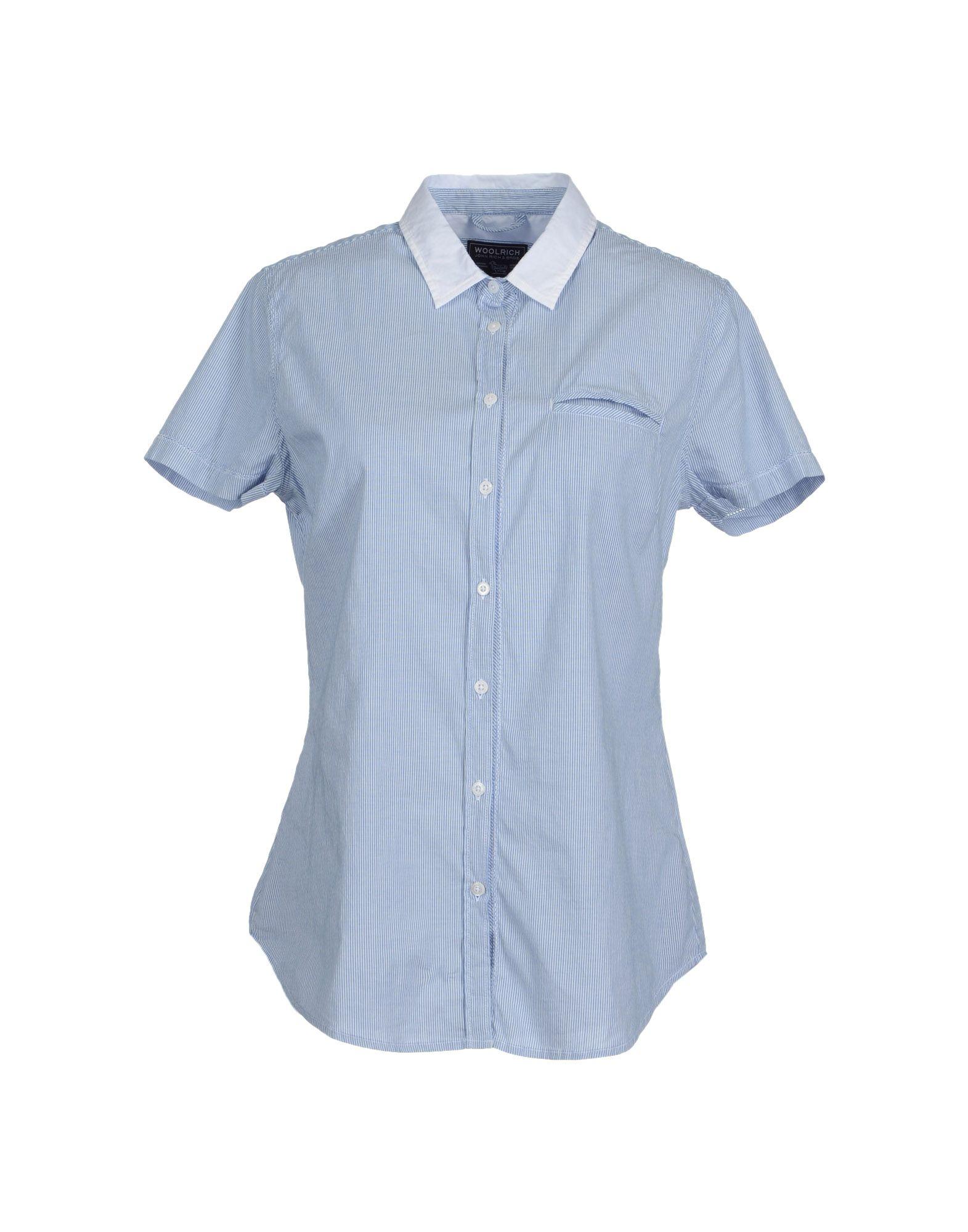 WOOLRICH Рубашка с короткими рукавами цена 2017