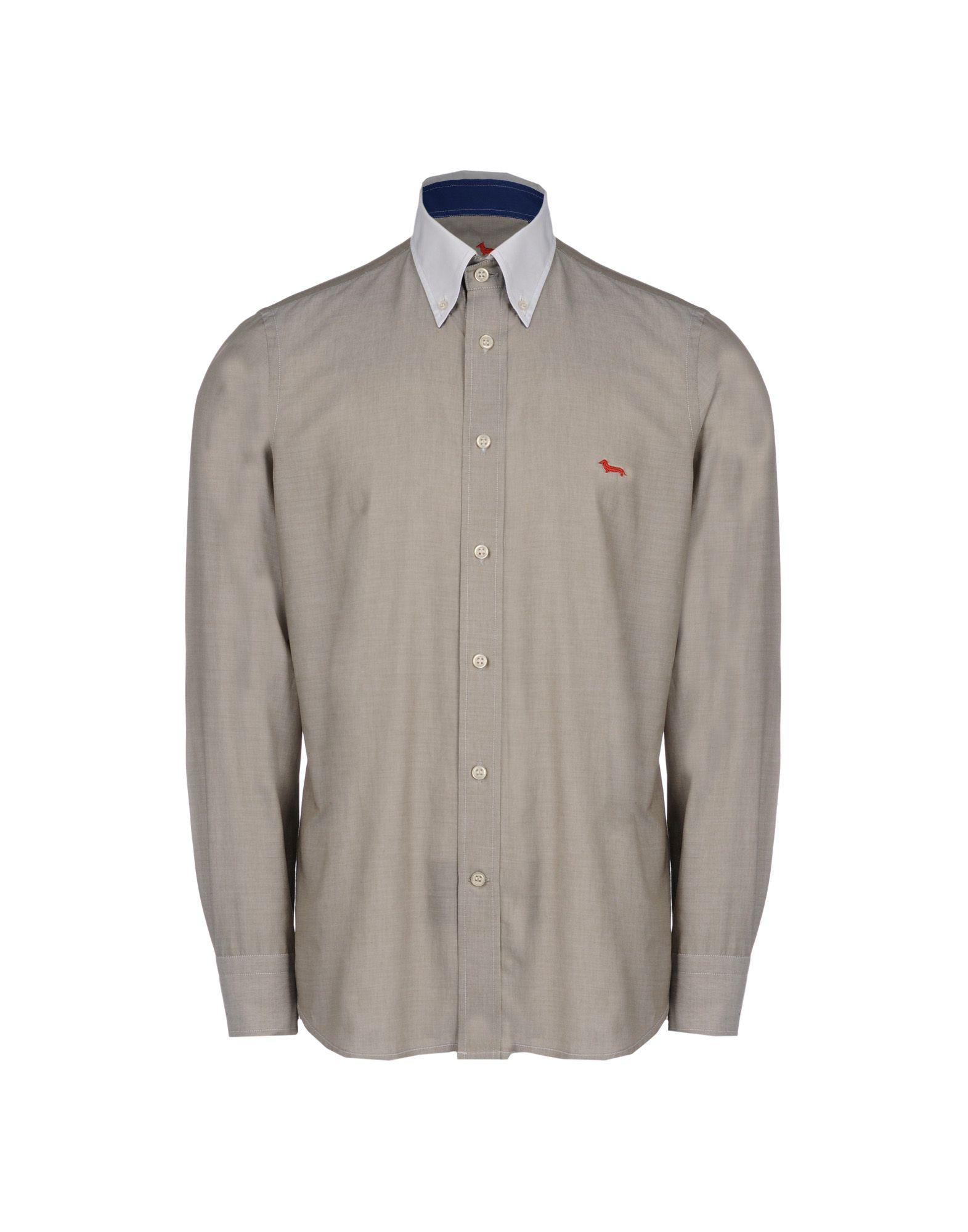 Фото - HARMONT&BLAINE Рубашка с длинными рукавами рубашка однотонная с длинными рукавами