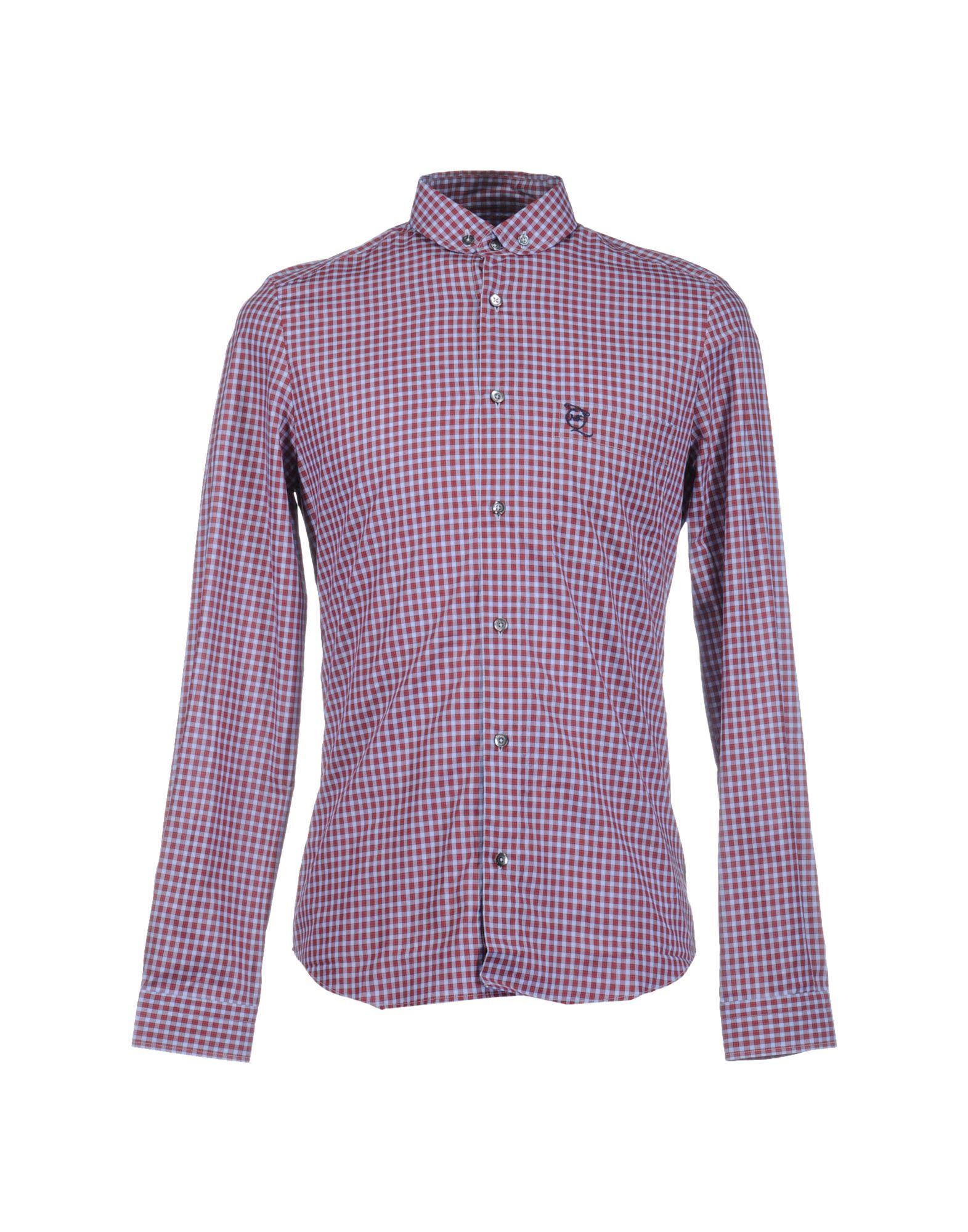 купить McQ Alexander McQueen Рубашка с длинными рукавами по цене 6000 рублей