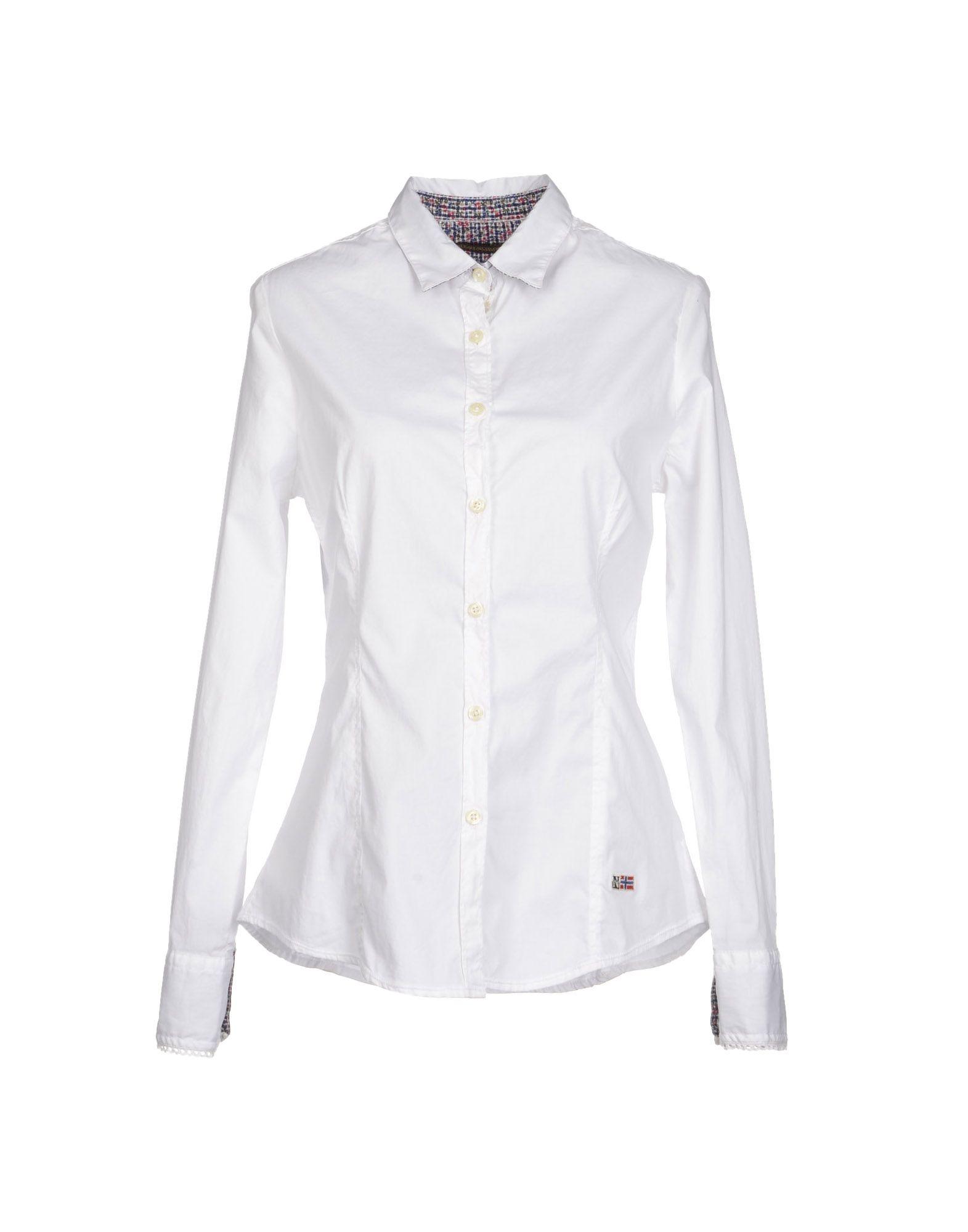 NAPAPIJRI Рубашка с длинными рукавами