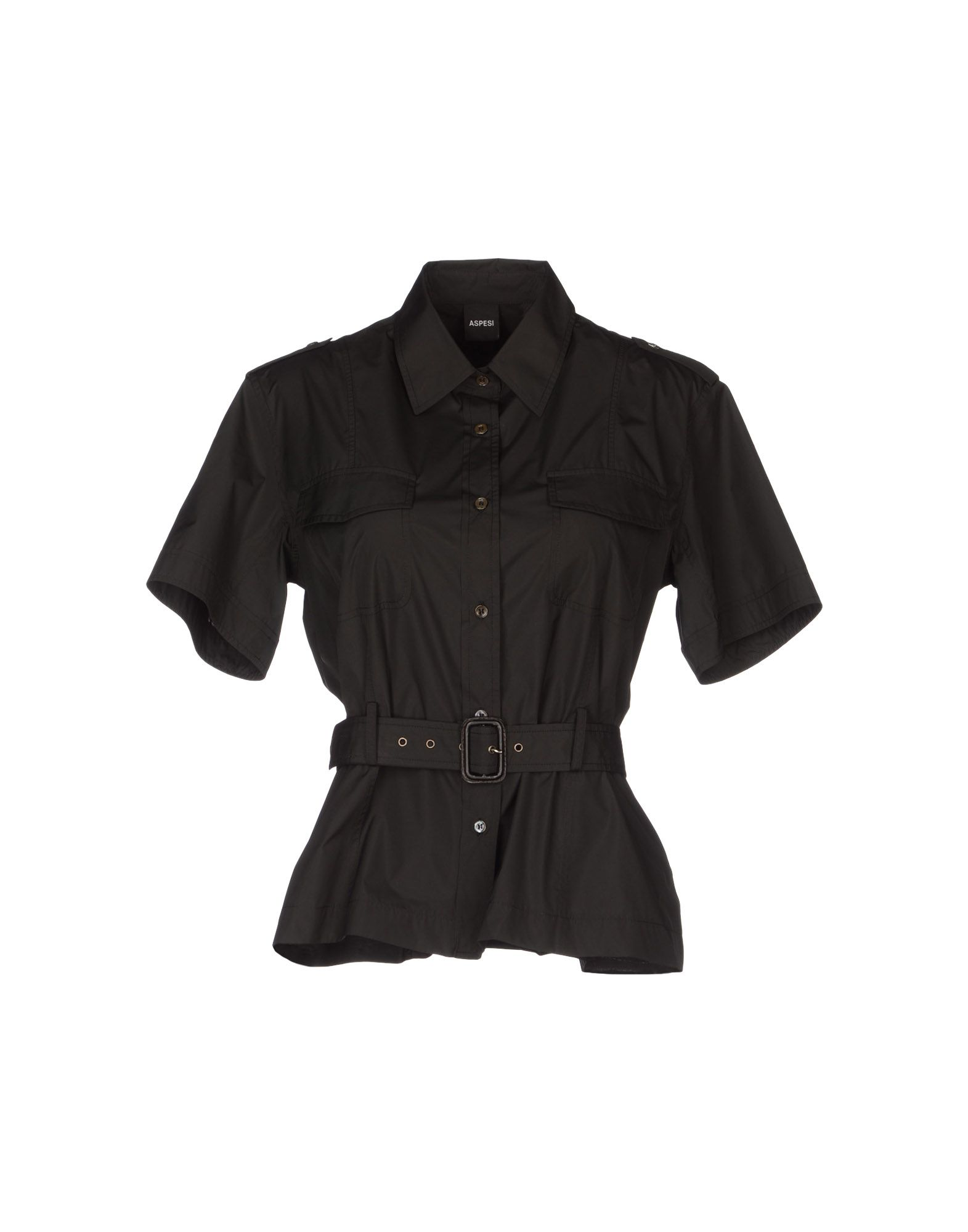 ASPESI Рубашка с короткими рукавами цена 2017