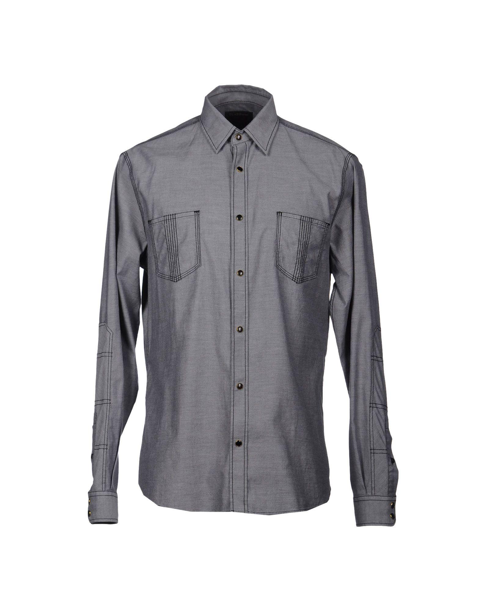 CAVALLI CLASS Рубашка с длинными рукавами цена 2017