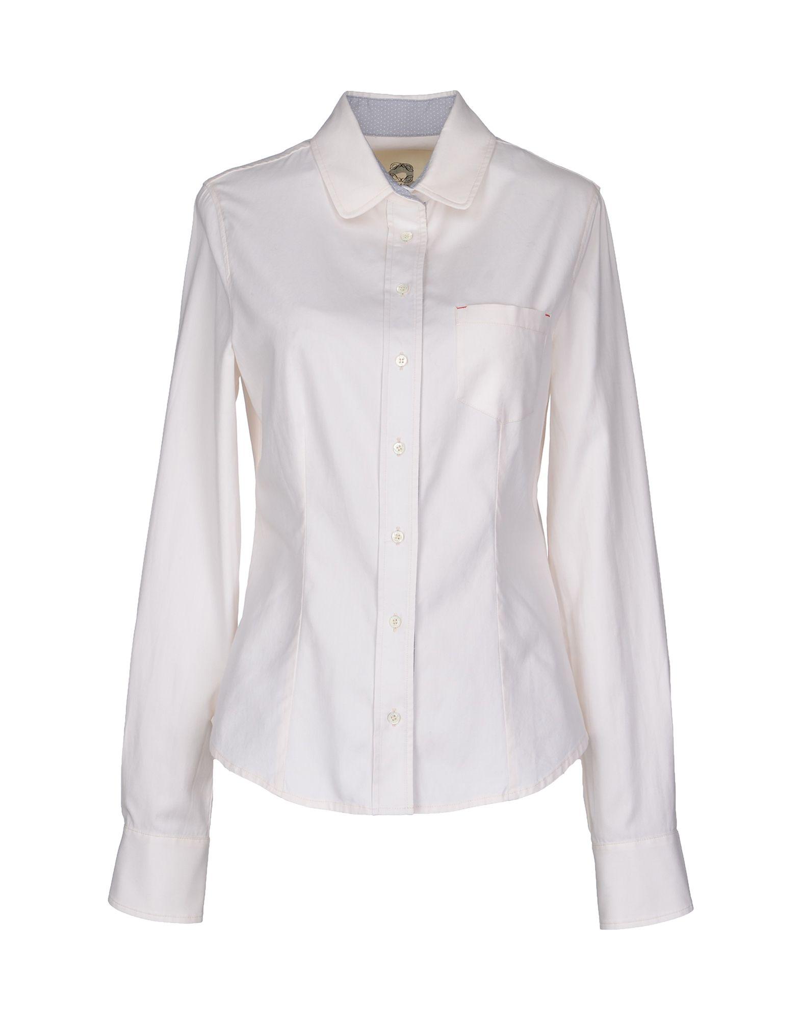 PATRIZIA PEPE Рубашка с длинными рукавами cityplus фан арт воротник диких дна рубашка рыхлая с длинными рукавами розовая рубашка cwcc172473 l