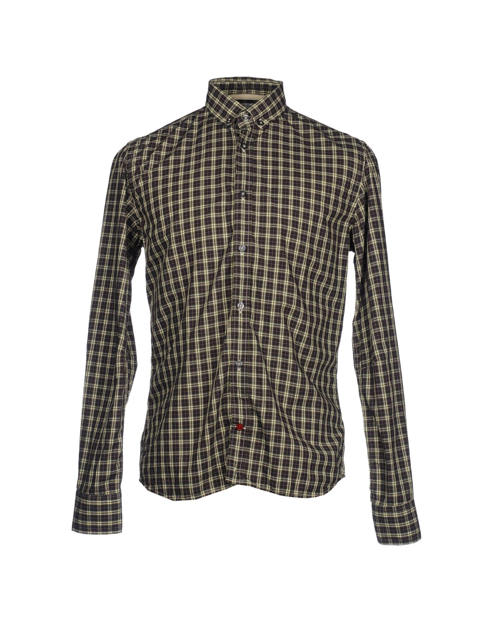PEUTEREY Рубашка с длинными рукавами цена 2017
