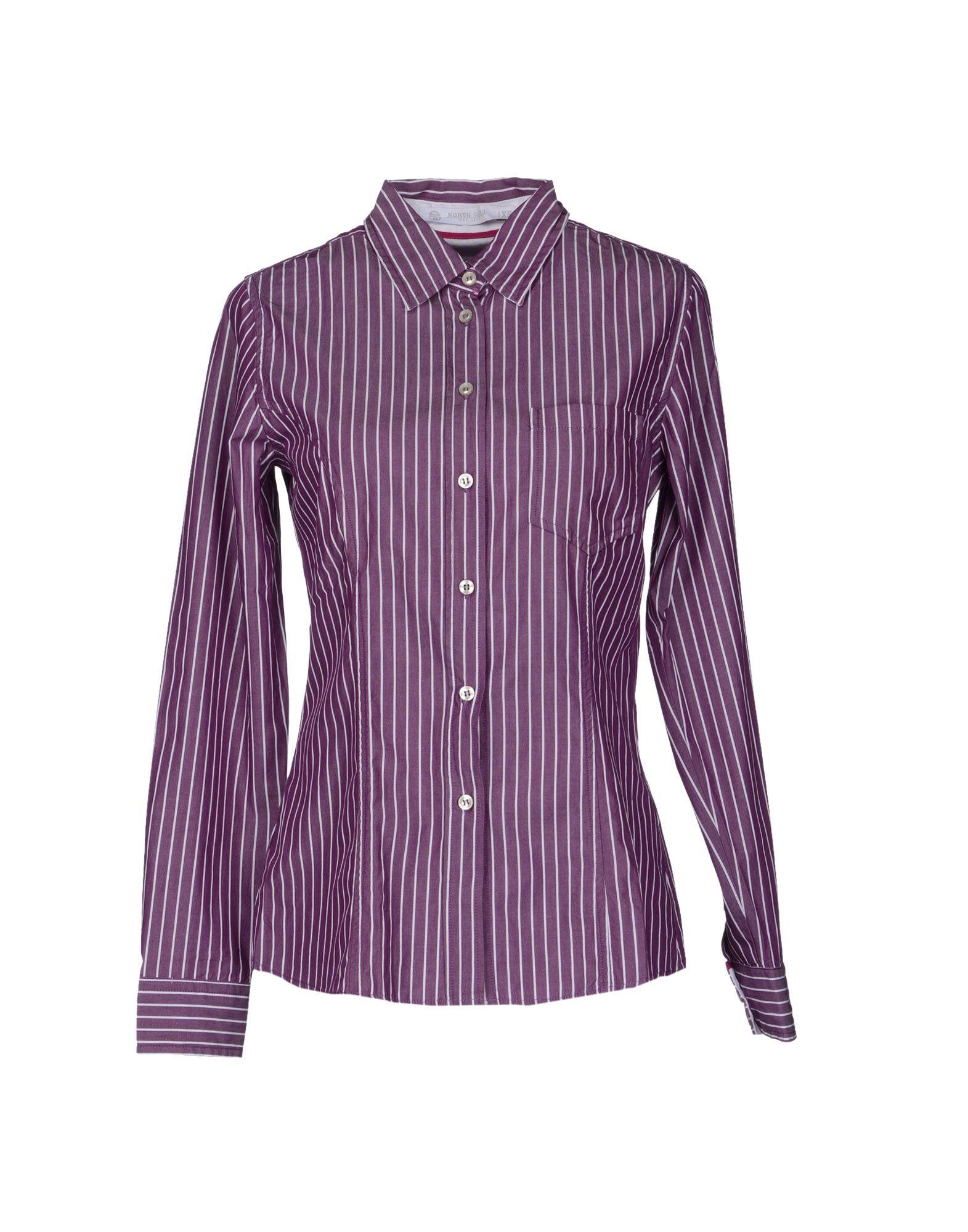 Фото - NORTH SAILS Рубашка с длинными рукавами рубашка однотонная с длинными рукавами