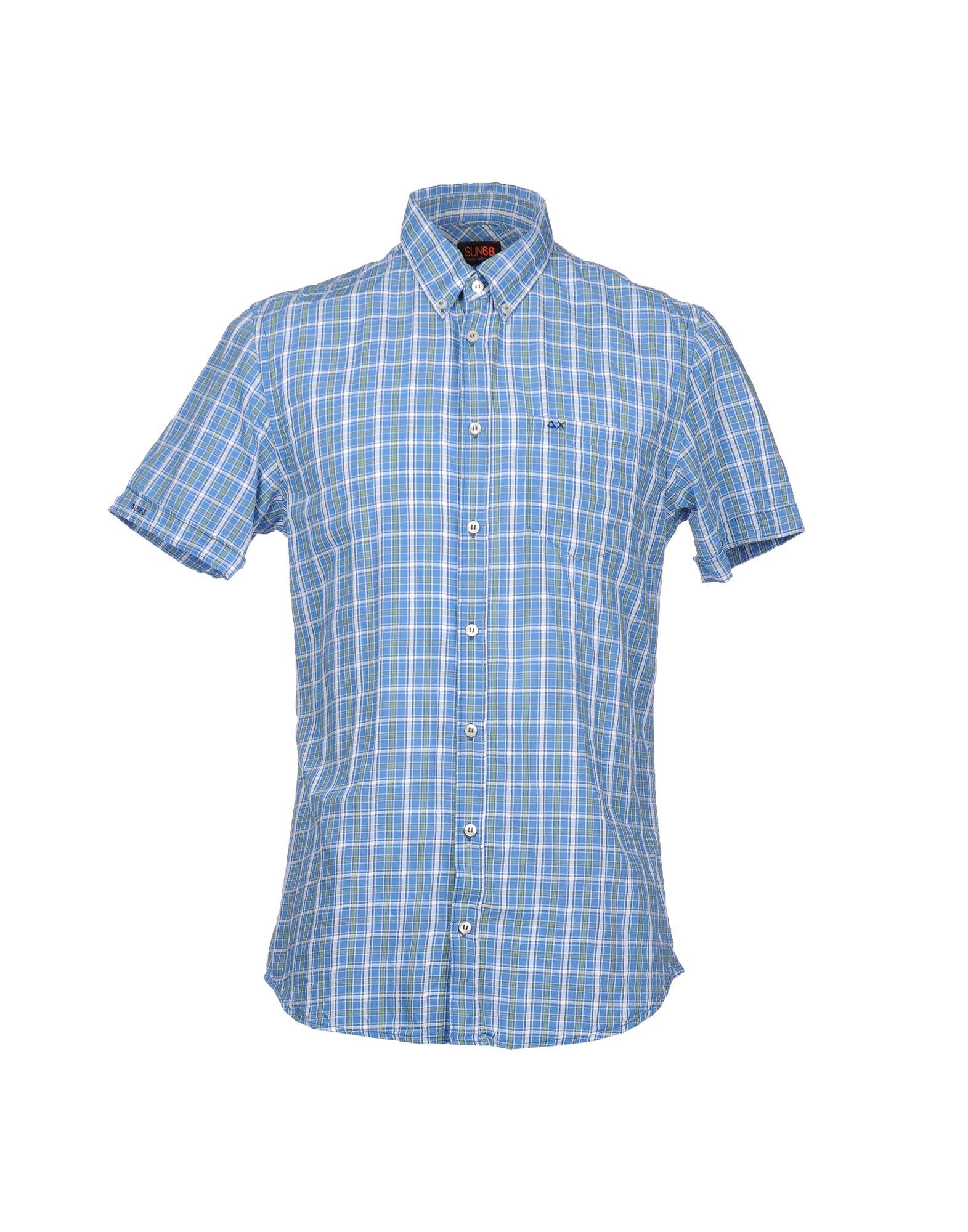 SUN 68 Рубашка с короткими рукавами цена 2017
