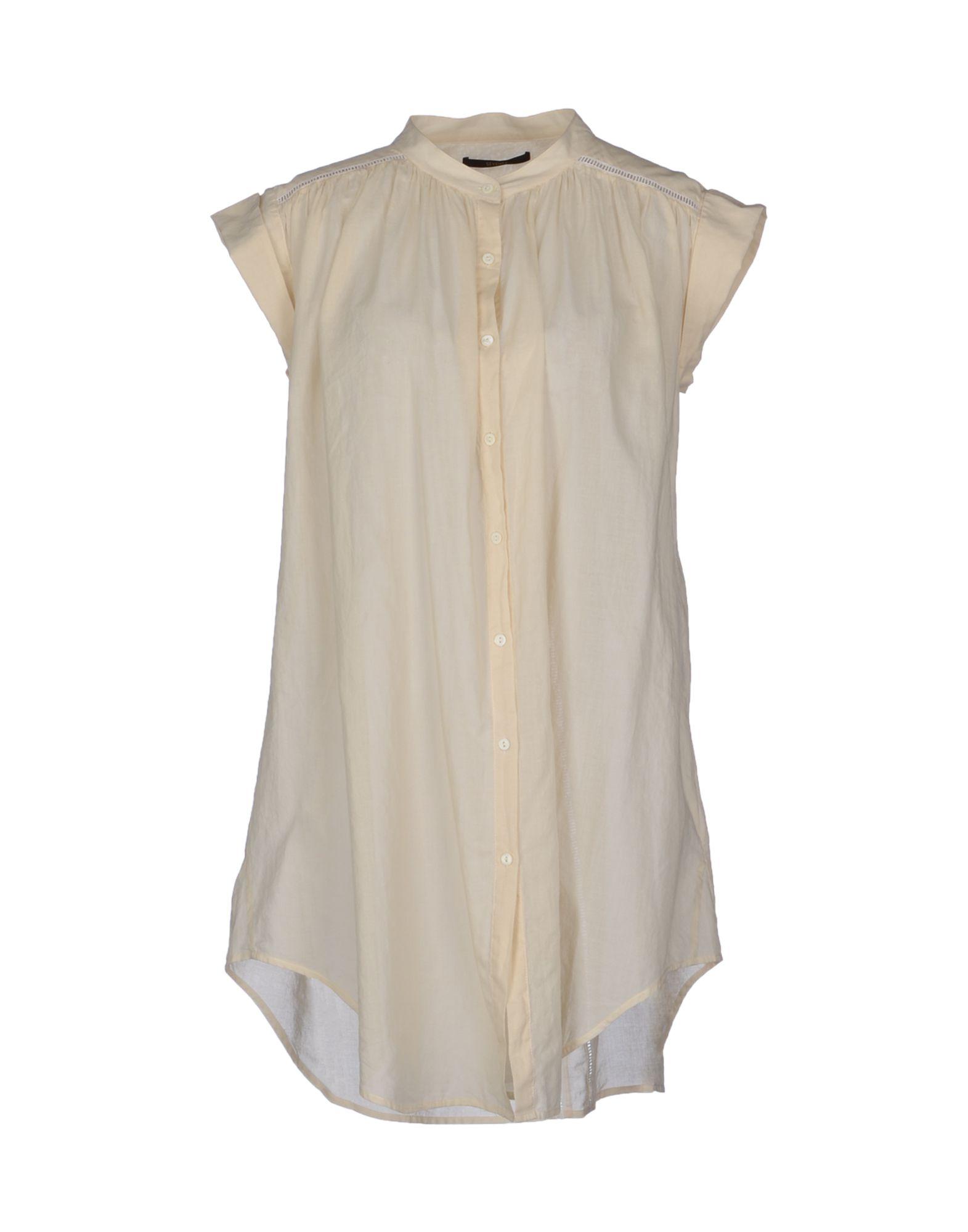SEVENTY SERGIO TEGON Рубашка с короткими рукавами цена 2017