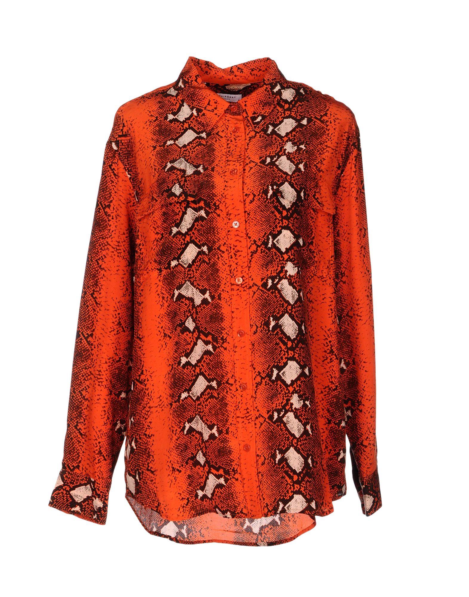 EQUIPMENT Рубашка с длинными рукавами