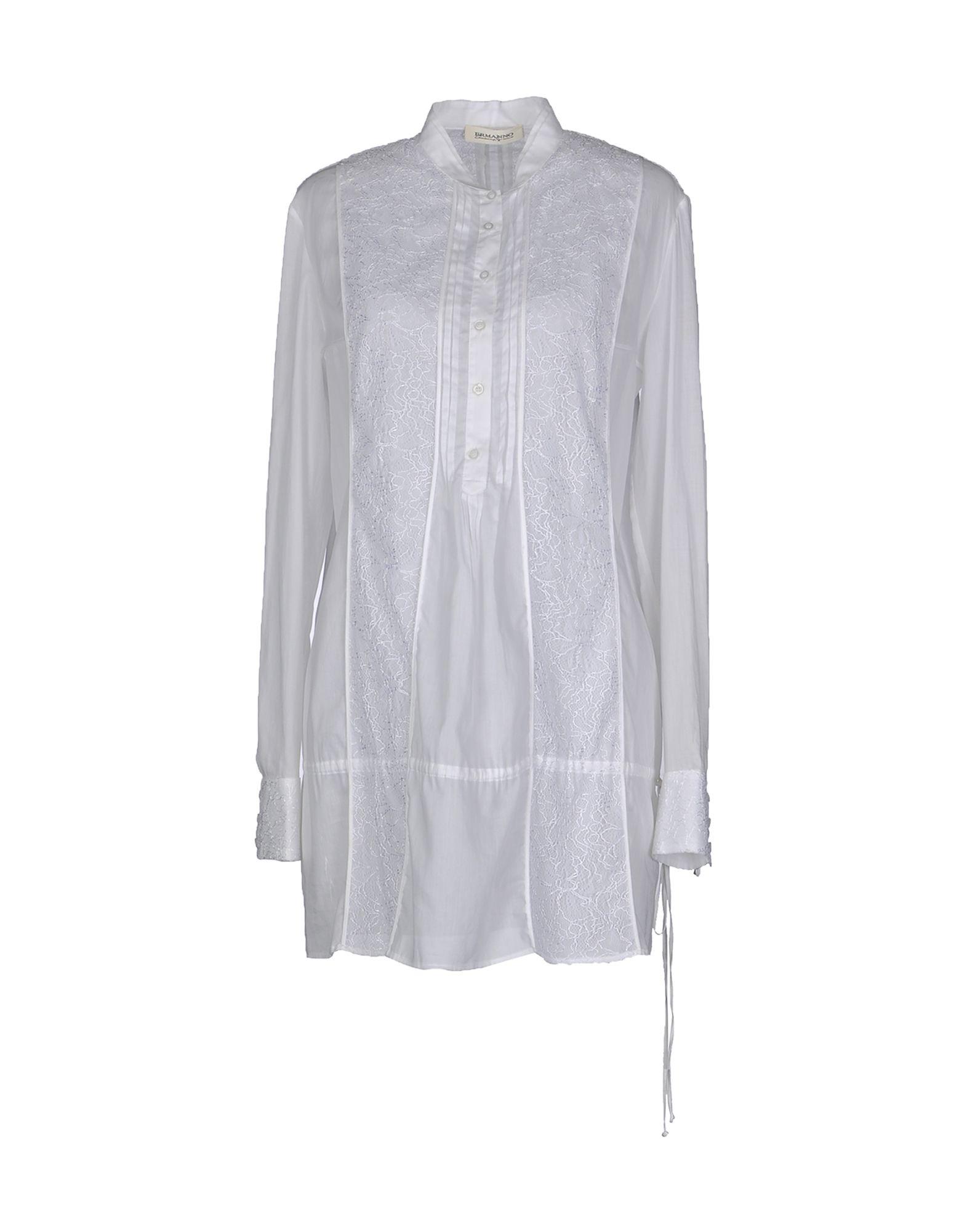 купить ERMANNO DI ERMANNO SCERVINO Рубашка с длинными рукавами по цене 7100 рублей