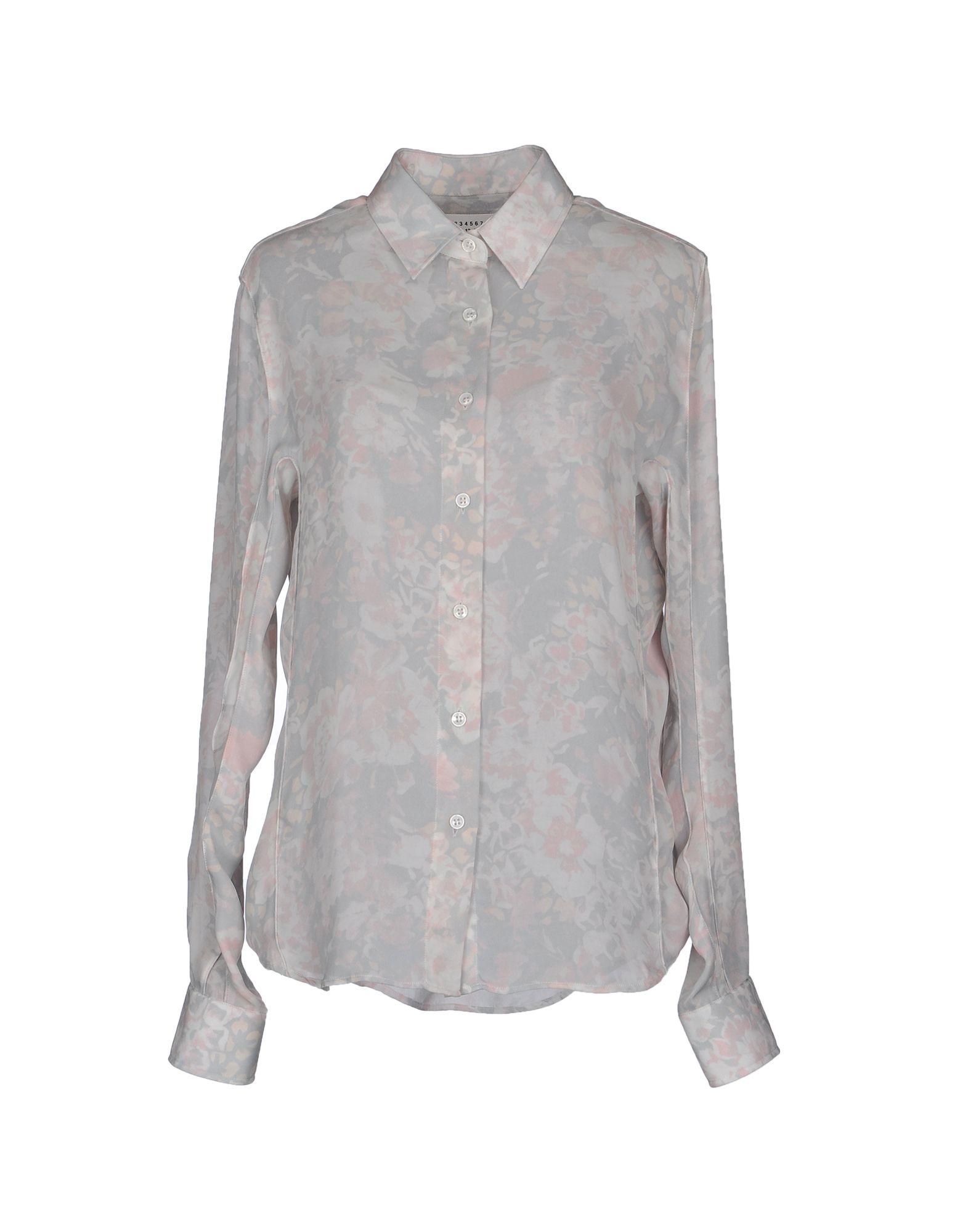 MAISON MARGIELA Рубашка с длинными рукавами цена 2017