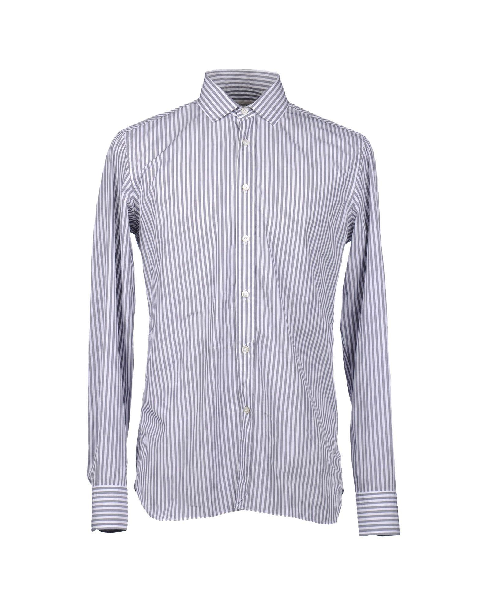 MAURO GRIFONI Рубашка с длинными рукавами цена 2017
