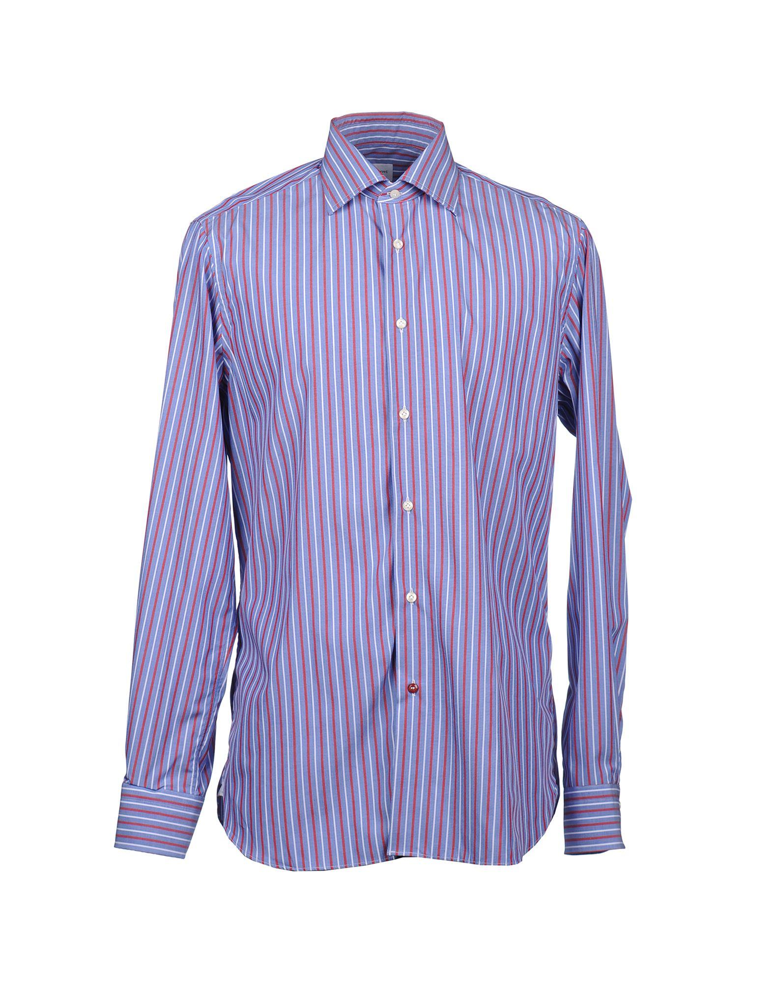 CÀRREL Рубашка с длинными рукавами c h i c платье рубашка в полоску