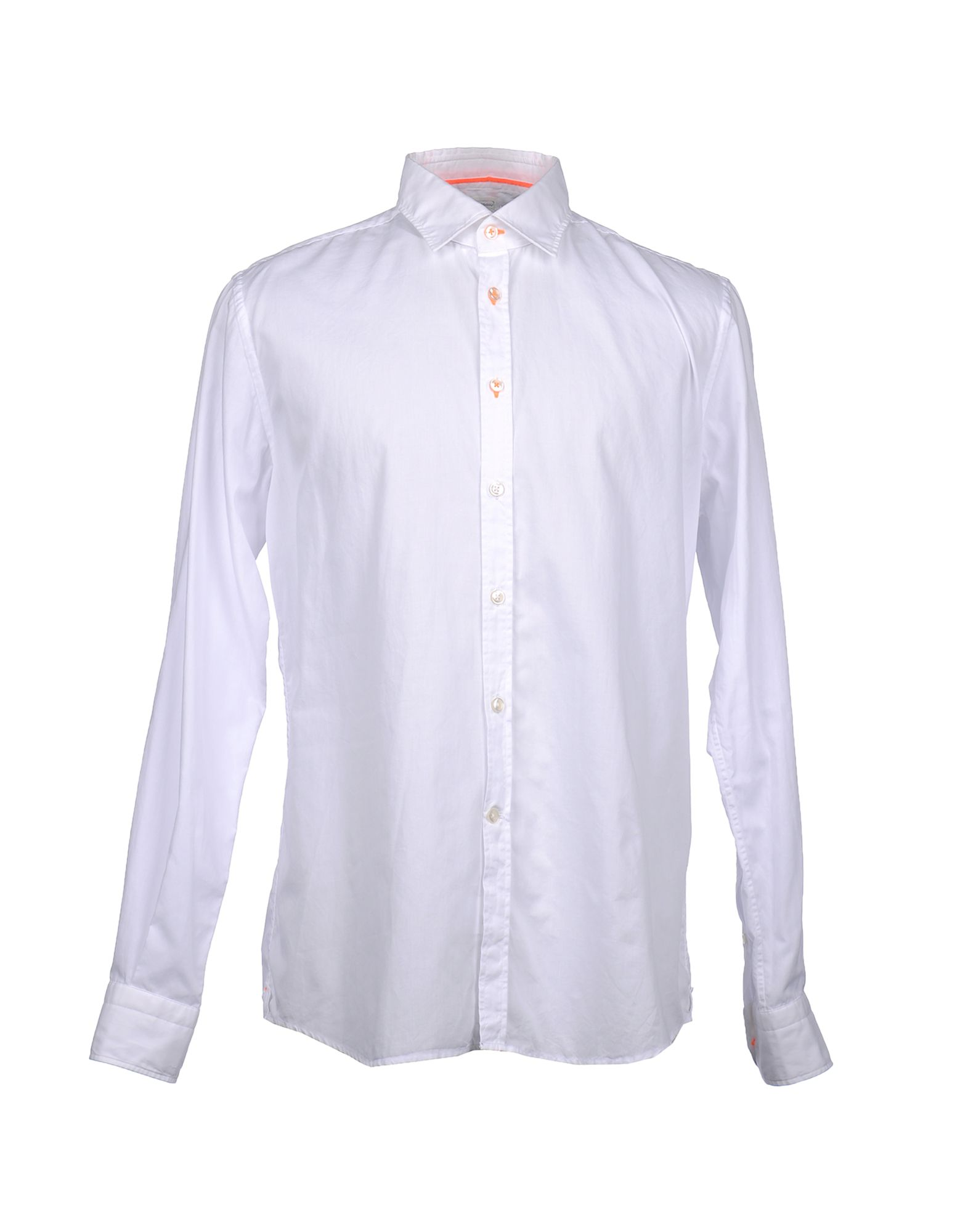 Фото - DEL SIENA Рубашка с длинными рукавами рубашка однотонная с длинными рукавами
