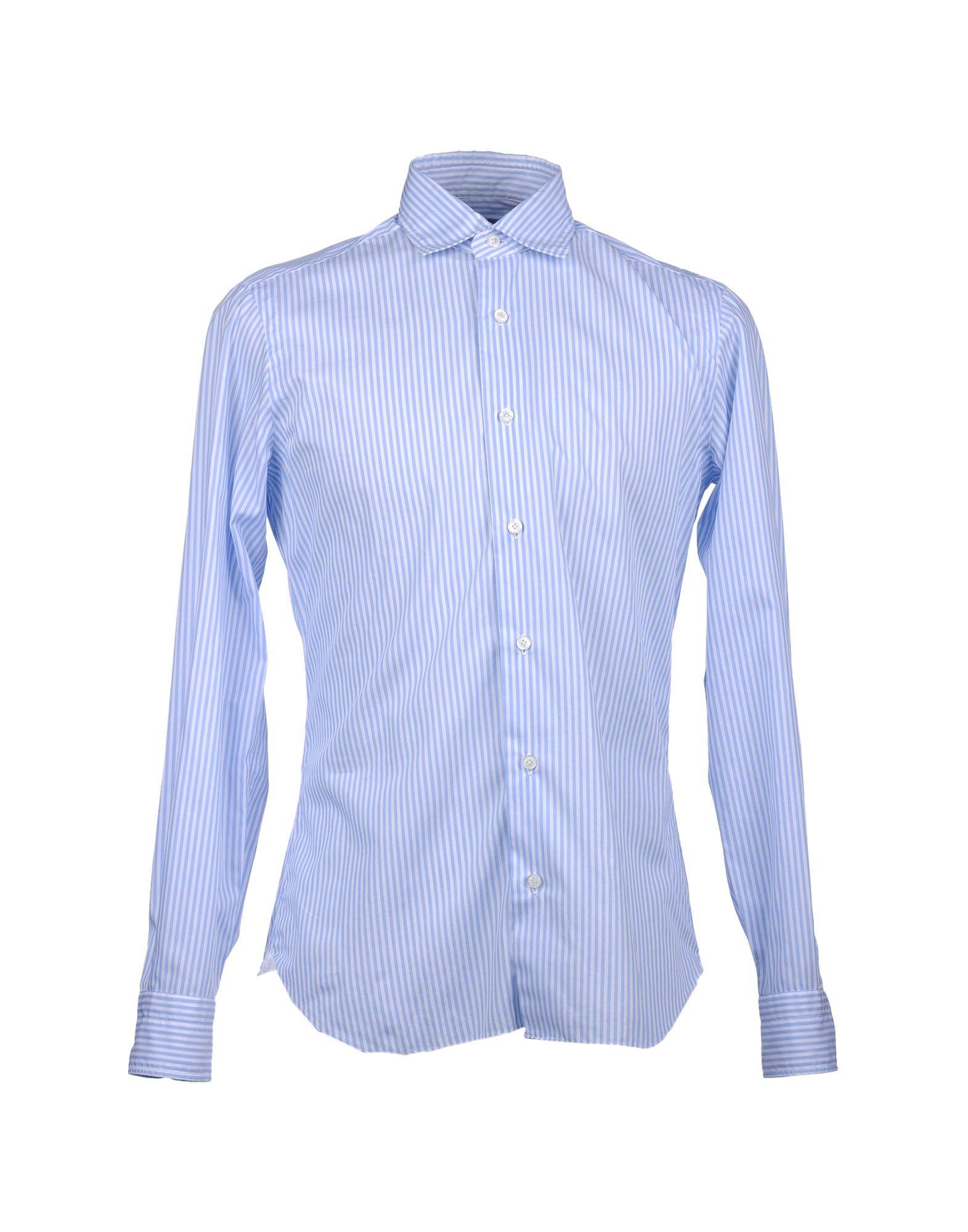 DANDYLIFE by BARBA Рубашка с длинными рукавами рубашка с длинными рукавами