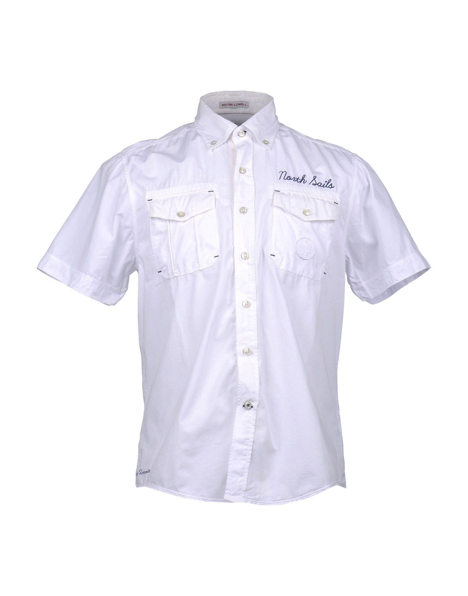 NORTH SAILS Рубашка с короткими рукавами цена 2017