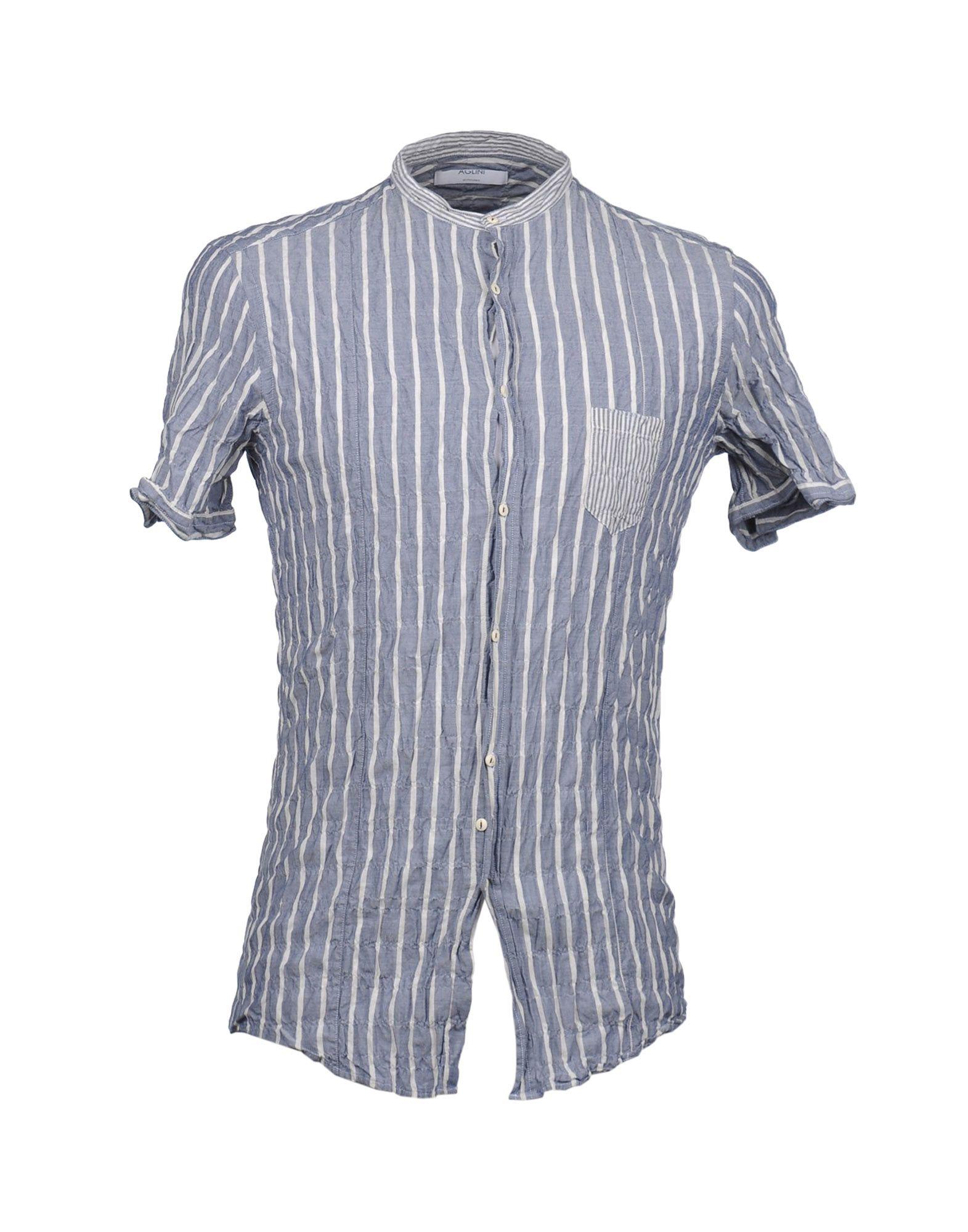 AGLINI Рубашка с короткими рукавами цена 2017