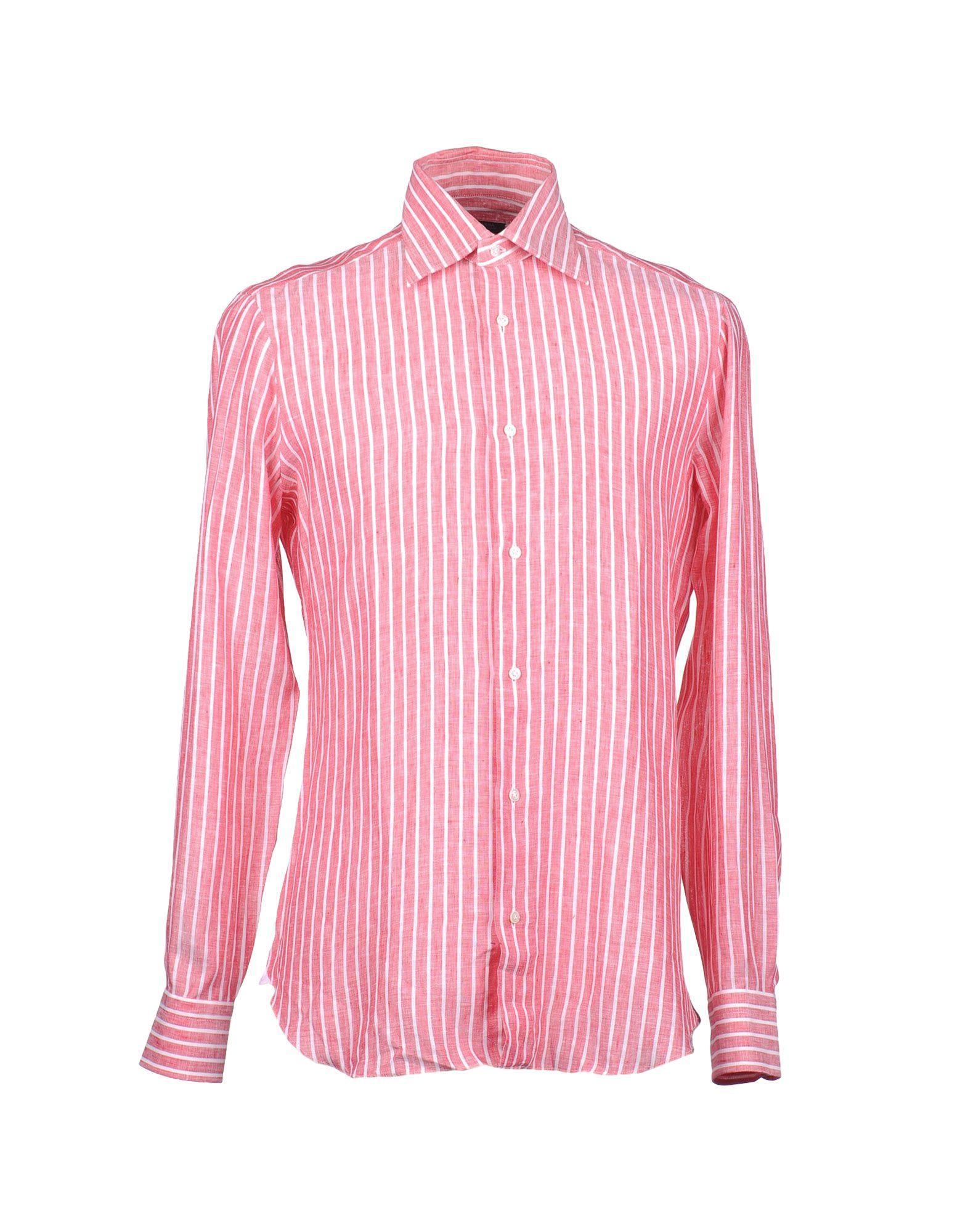 купить BARBA Napoli Рубашка с длинными рукавами по цене 5250 рублей