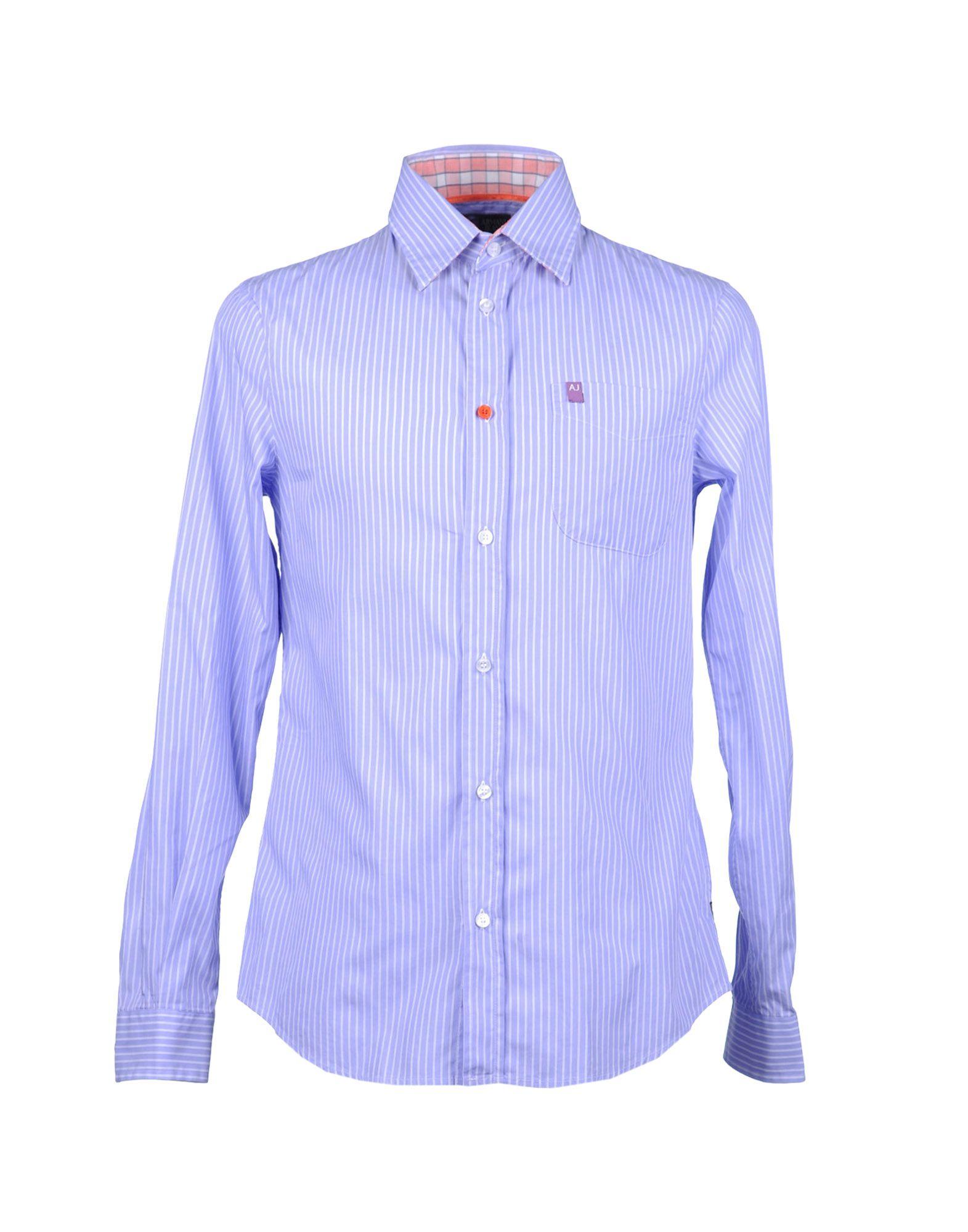 ARMANI JEANS Рубашка с длинными рукавами