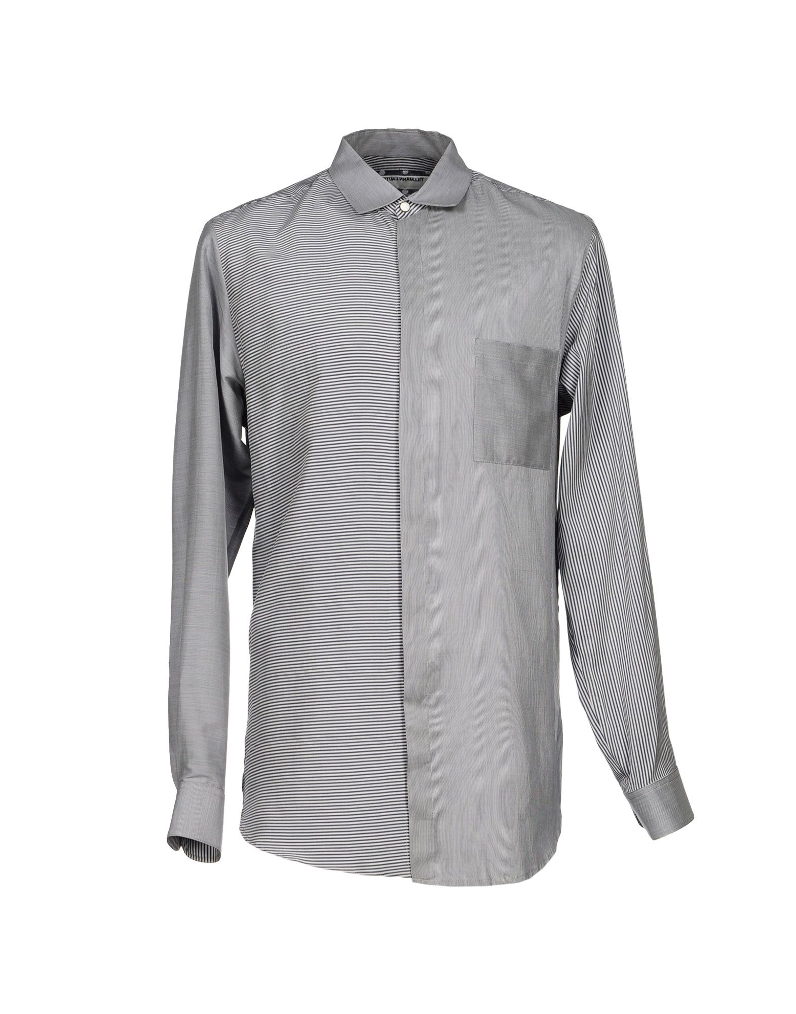 TILLMANN LAUTERBACH Striped Shirt in Blue
