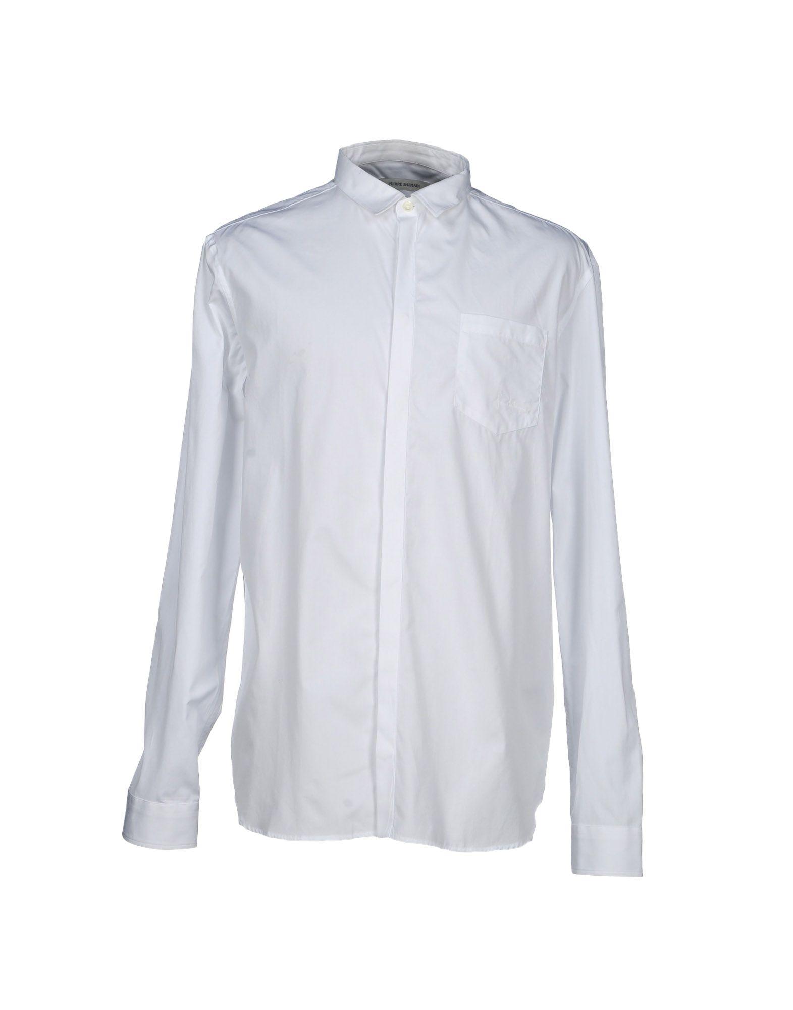 PIERRE BALMAIN Pубашка рубашка pierre balmain рубашки и сорочки длинные