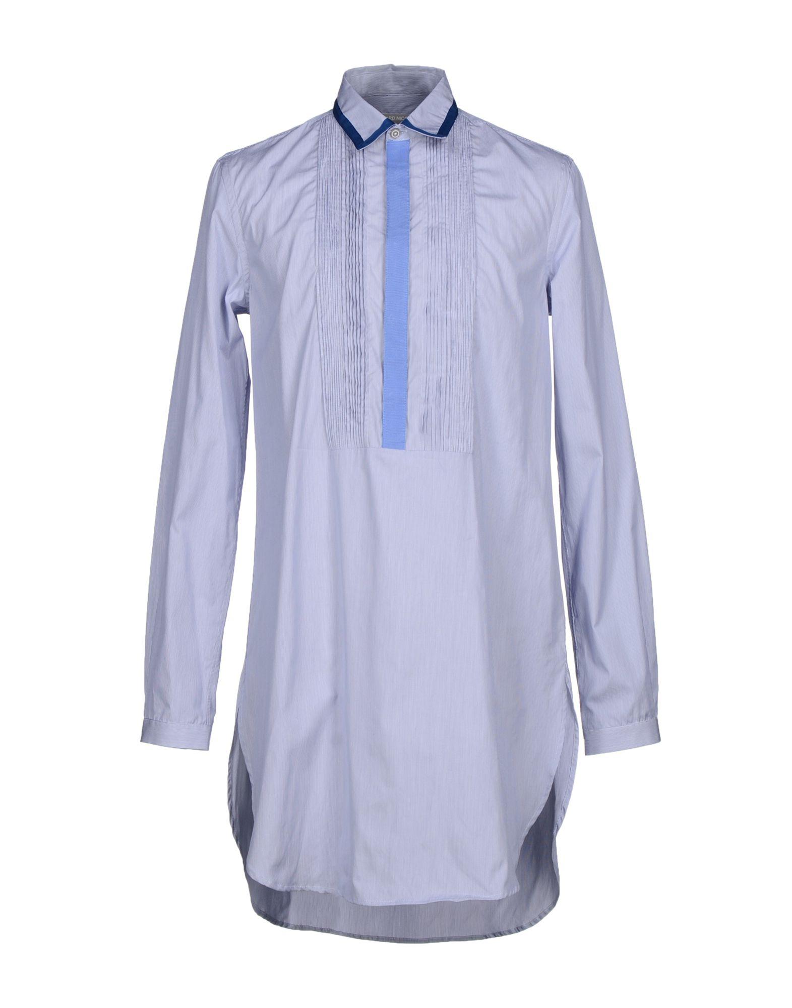 RICHARD NICOLL Pубашка richard nicoll короткое платье