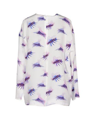 Фото 2 - Женскую блузку MSGM белого цвета