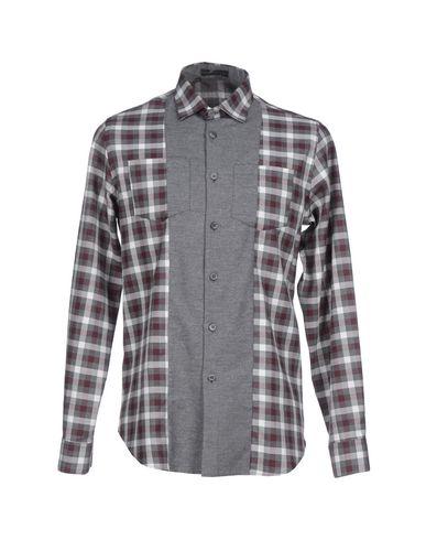 ALESSANDRO DELL'ACQUA メンズ シャツ グレー 42 コットン 100%