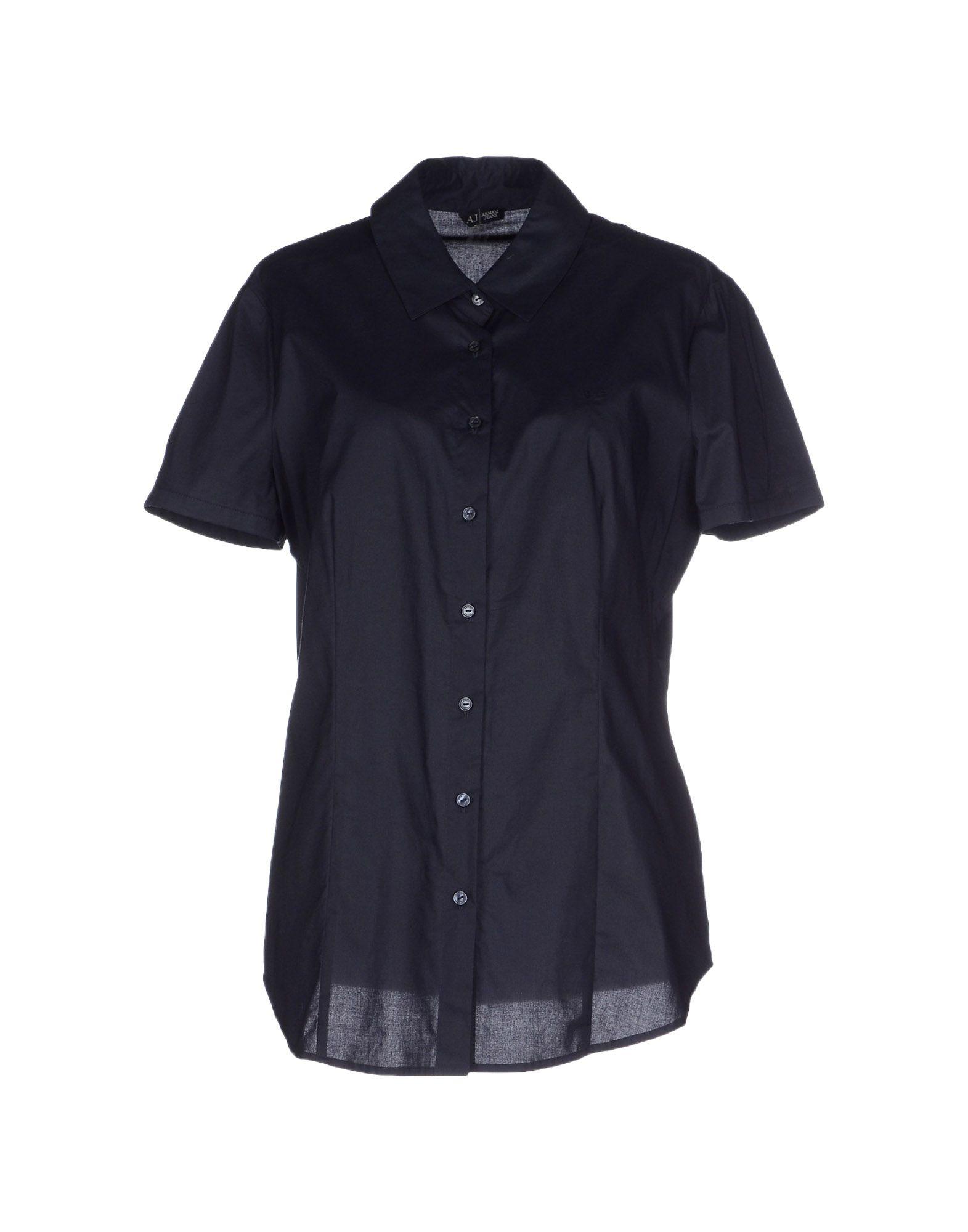 ARMANI JEANS Pубашка ремень женский armani jeans цвет черный 75104 c2 12 размер i 75
