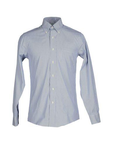 Фото - Pубашка от BROOKS BROTHERS темно-синего цвета