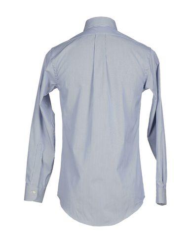 Фото 2 - Pубашка от BROOKS BROTHERS темно-синего цвета