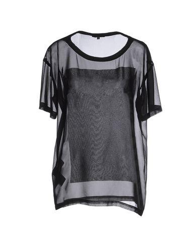 Фото 2 - Женскую блузку COSTUME NEMUTSO черного цвета