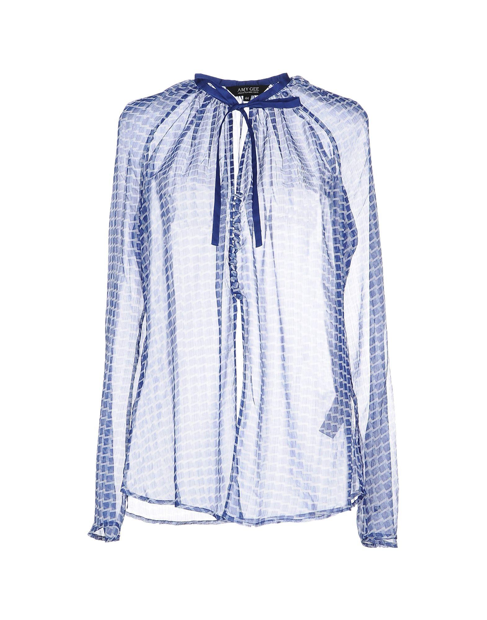 AMY GEE Pубашка amy gee короткое платье