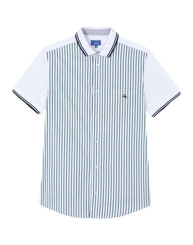 FAY Jungen Hemd Grün Größe 14 100% Baumwolle