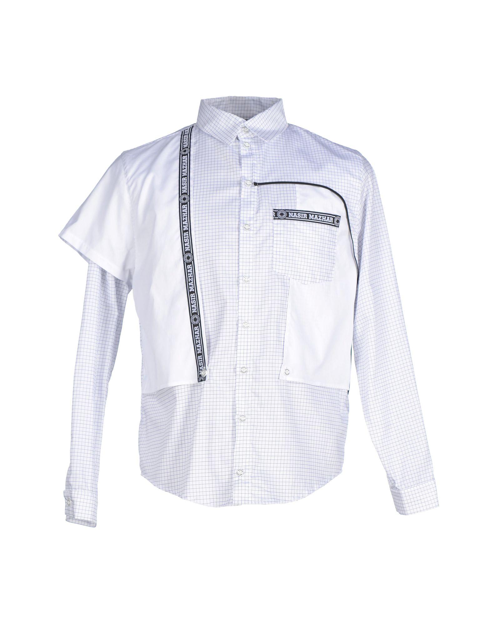 NASIR MAZHAR Shirts in White