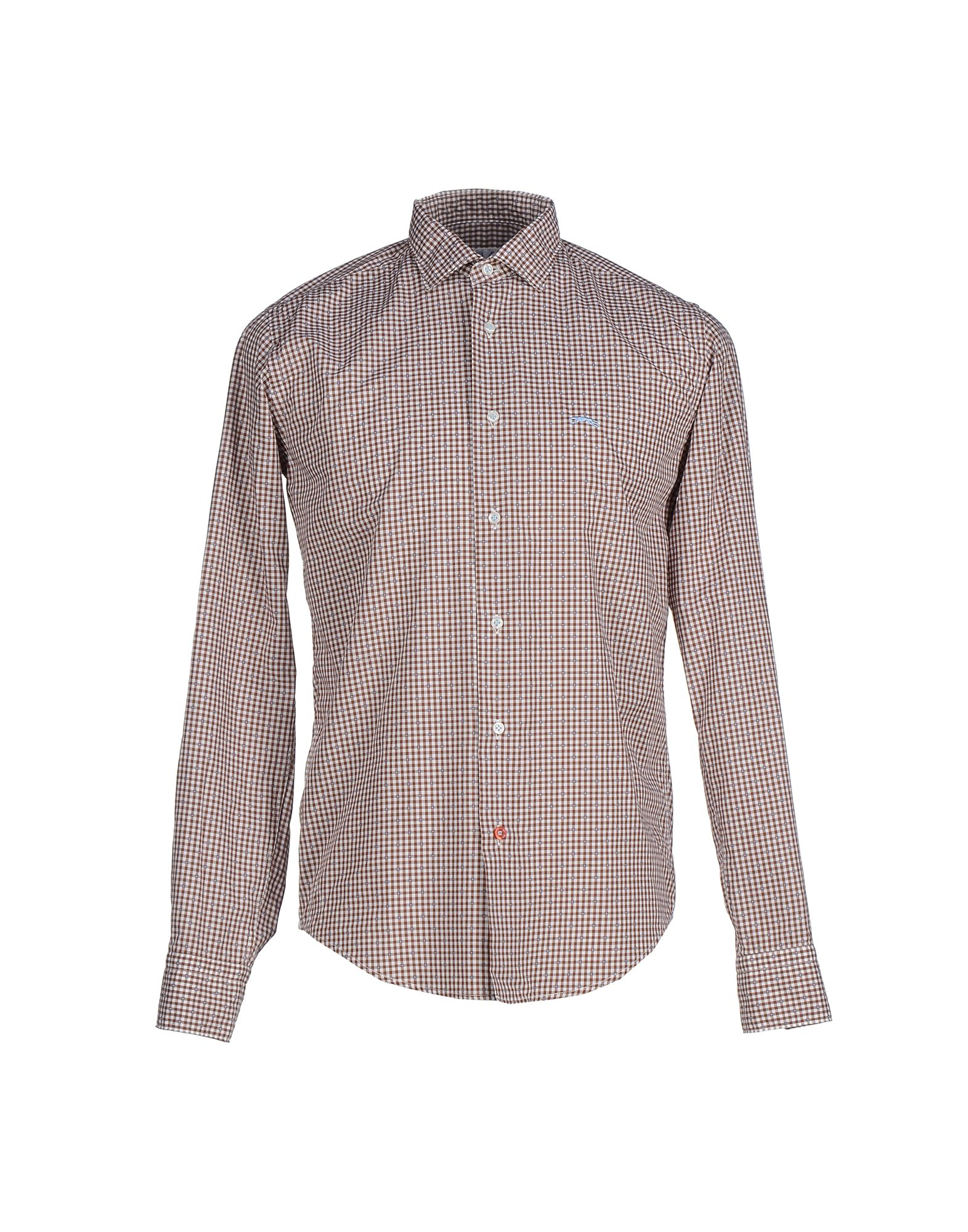 ERA Checked Shirt in Brown