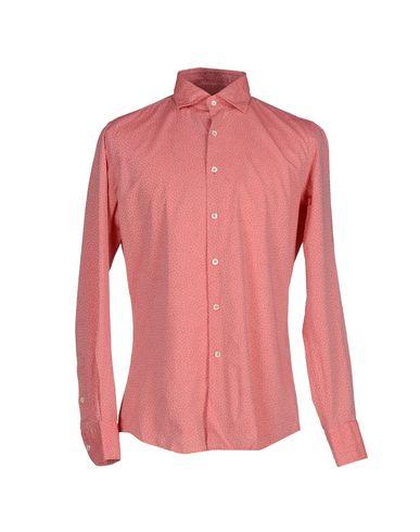 Фото - Pубашка кораллового цвета
