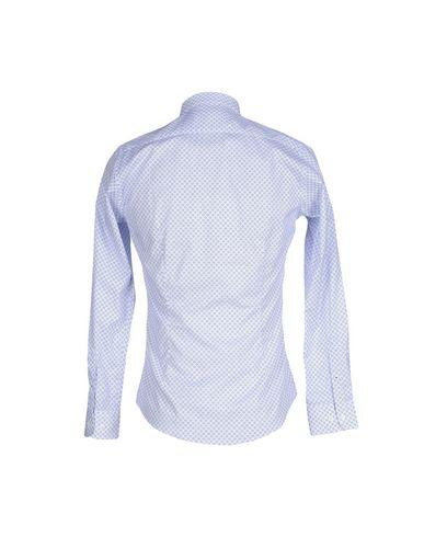 Фото 2 - Pубашка от AT.P.CO синего цвета
