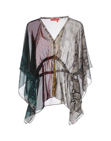 Фото - Женскую блузку MANILA GRACE DENIM темно-зеленого цвета
