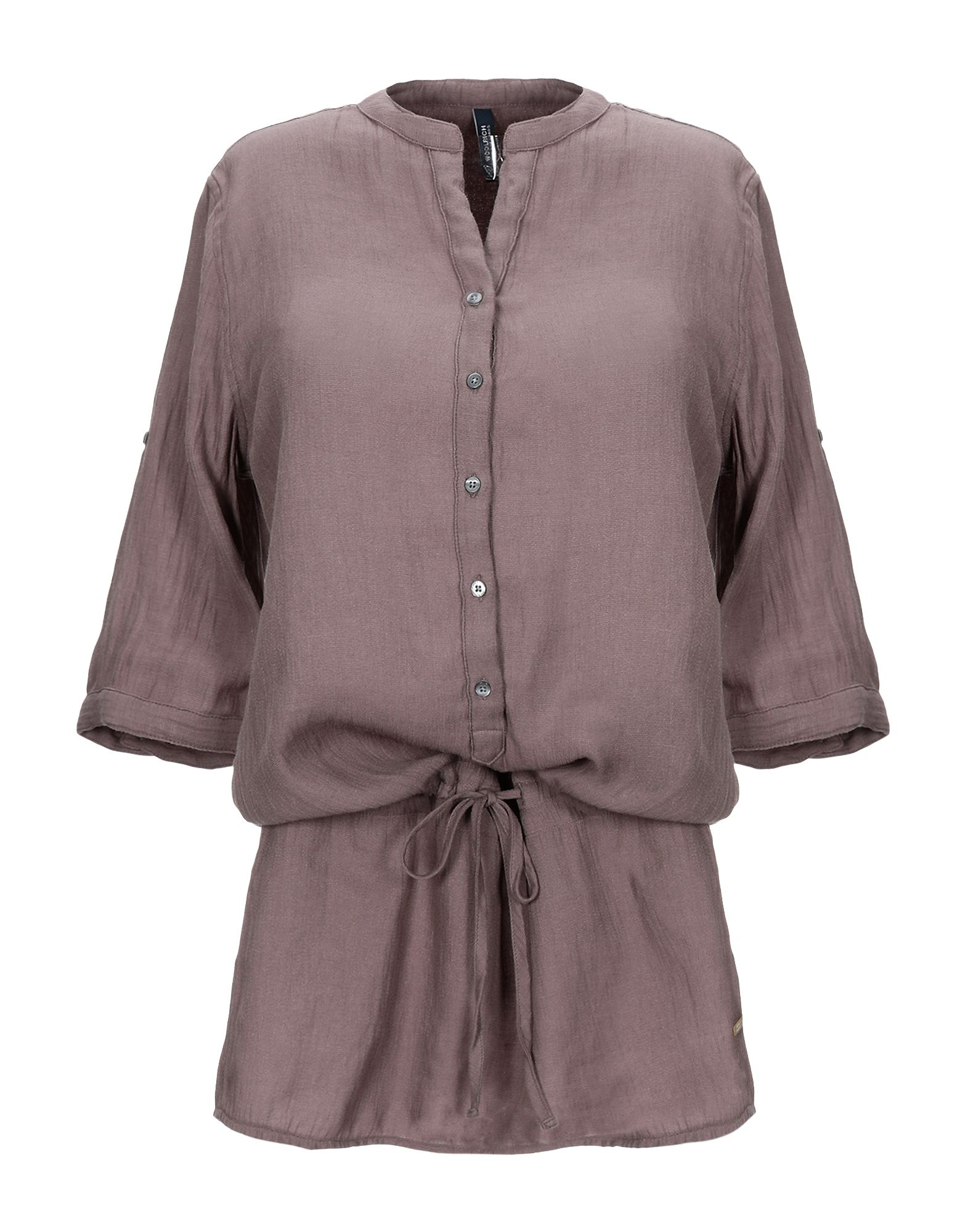 цена WOOLRICH Короткое платье онлайн в 2017 году