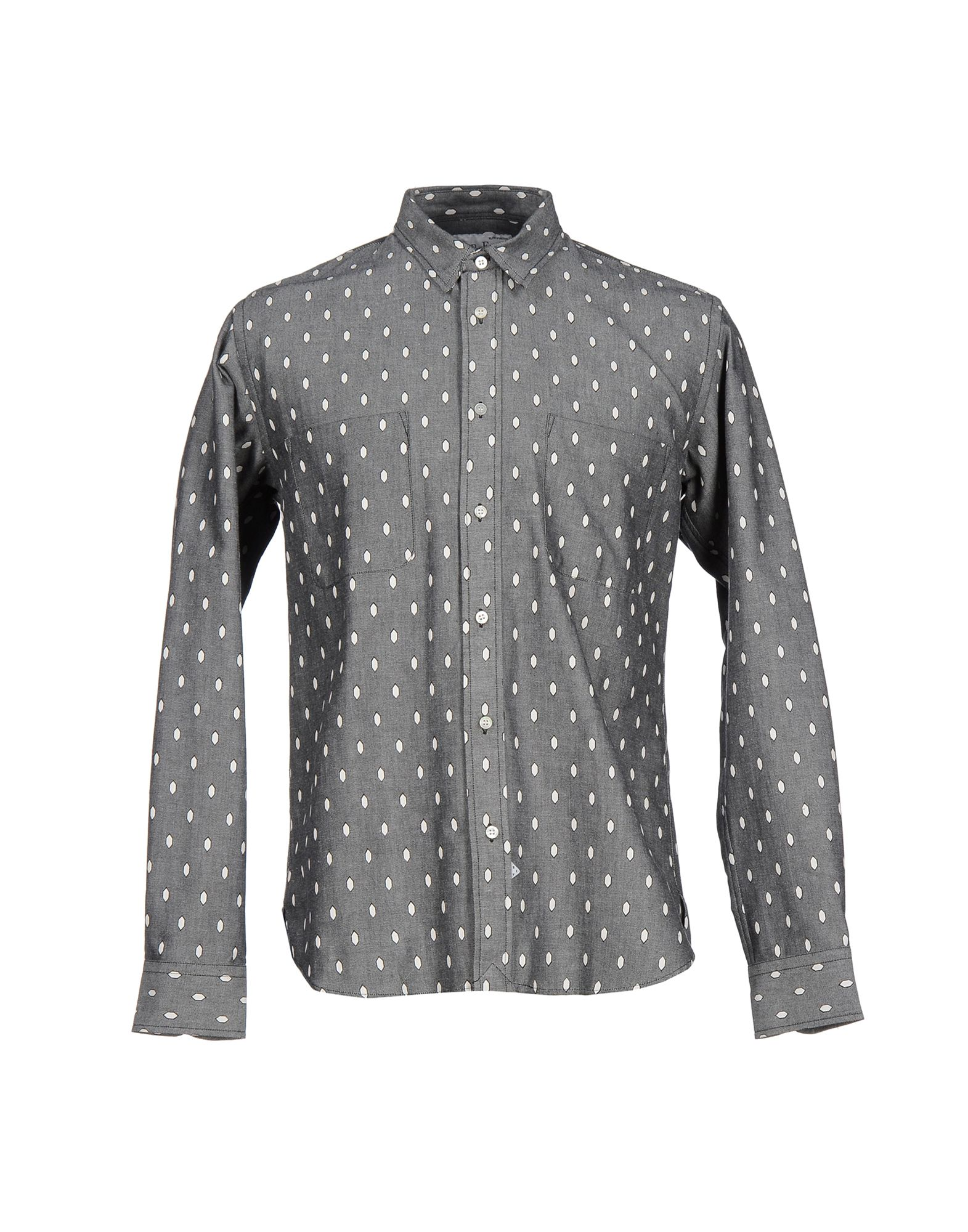 SIDIAN, ERSATZ & VANES Patterned Shirt in Grey