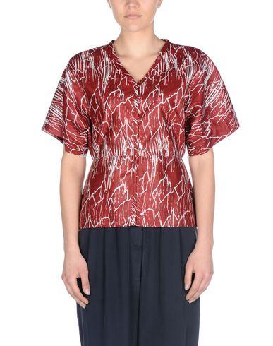 Фото 2 - Pубашка от 8 красно-коричневого цвета