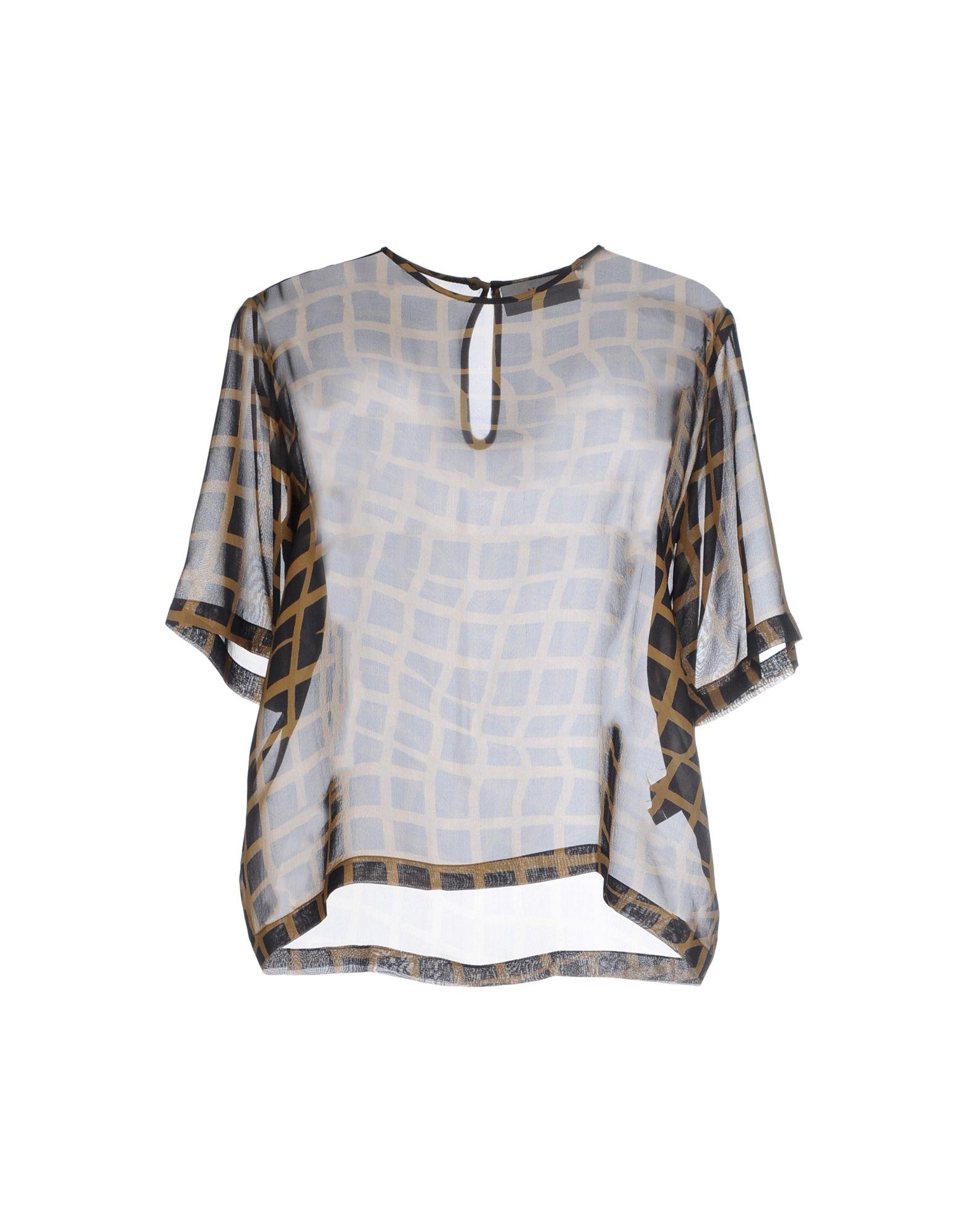 PREEN by THORNTON BREGAZZI Damen Bluse Farbe Schwarz Größe 3