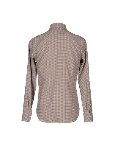 Фото 2 - Pубашка от GHIRARDELLI темно-коричневого цвета