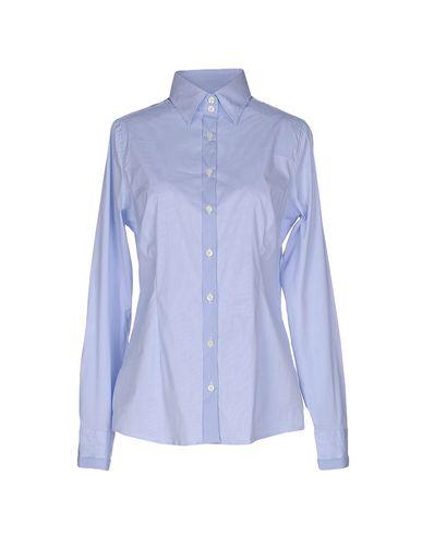 Фото - Pубашка от ROSSI DONNA небесно-голубого цвета