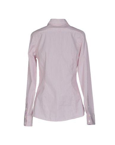 Фото 2 - Pубашка от ROSSI DONNA розовато-лилового цвета